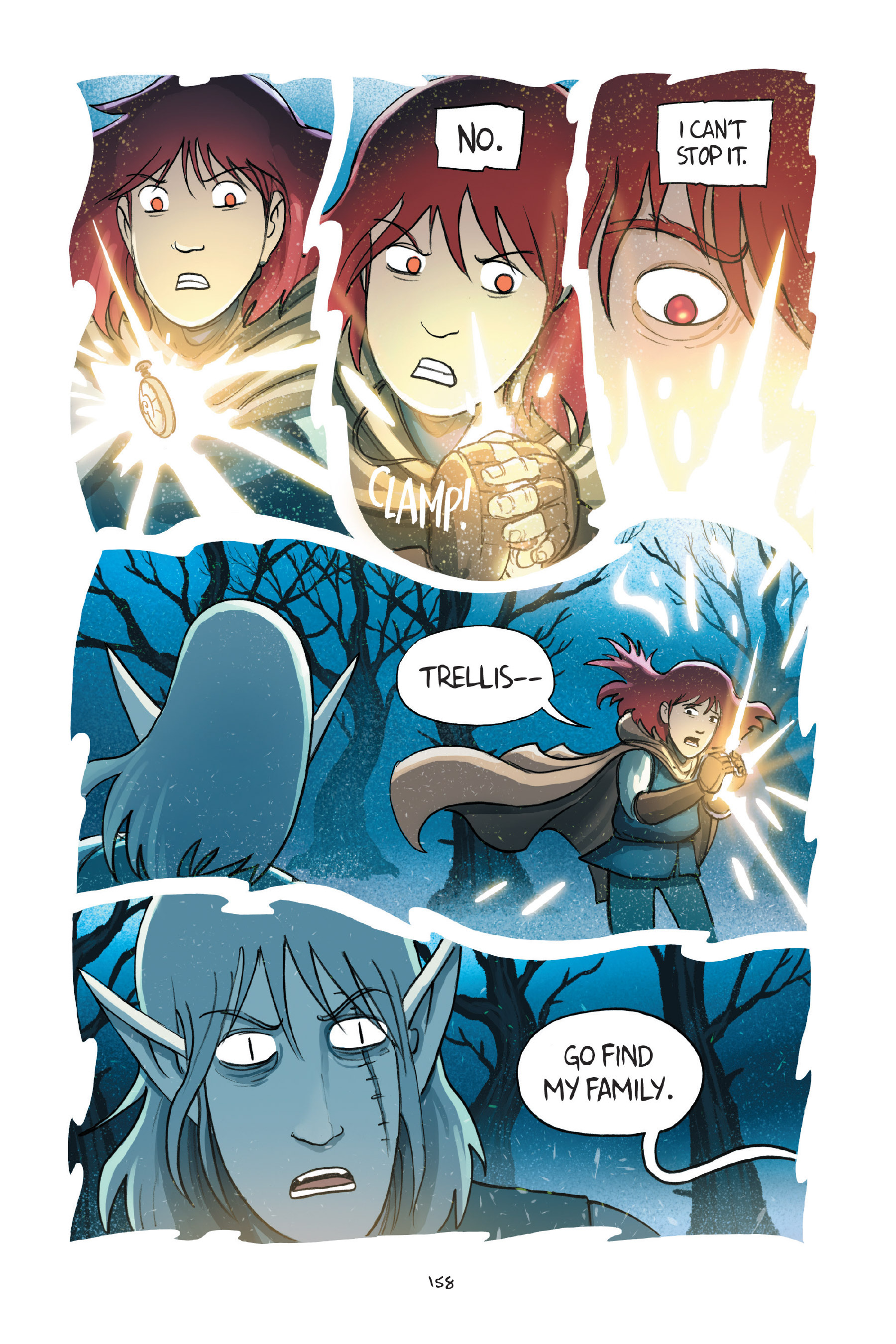 Read online Amulet comic -  Issue #7 - 158