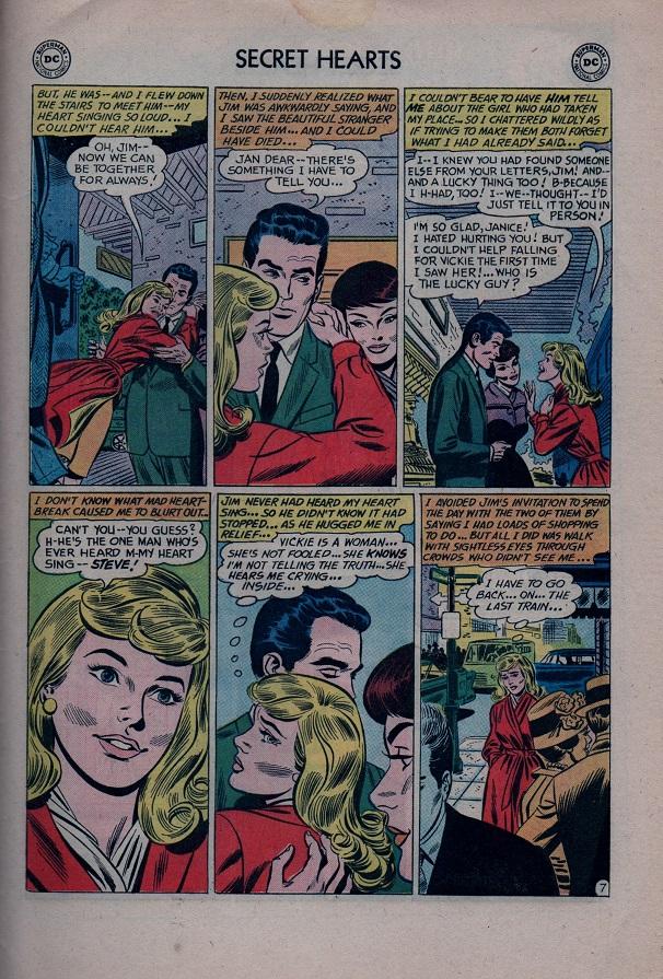 Read online Secret Hearts comic -  Issue #79 - 33