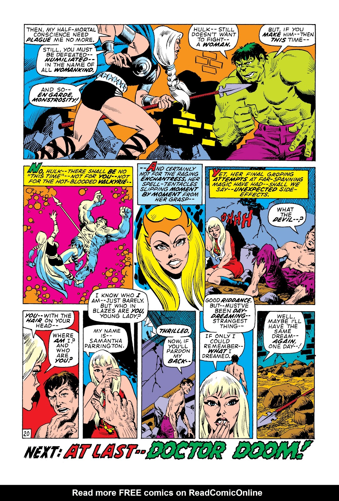 Read online Marvel Masterworks: The Incredible Hulk comic -  Issue # TPB 7 (Part 2) - 86