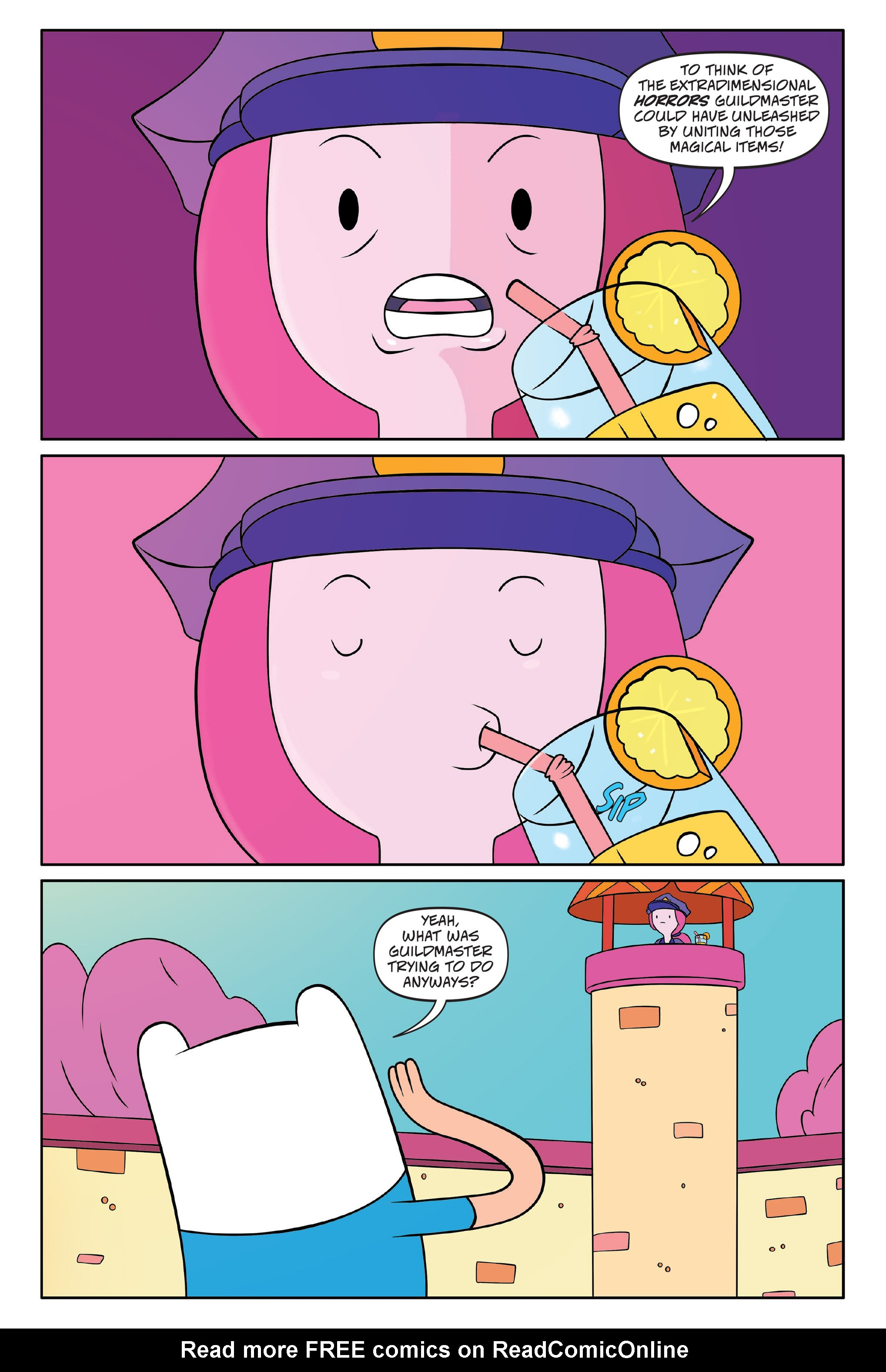 Read online Adventure Time comic -  Issue #Adventure Time _TPB 7 - 139