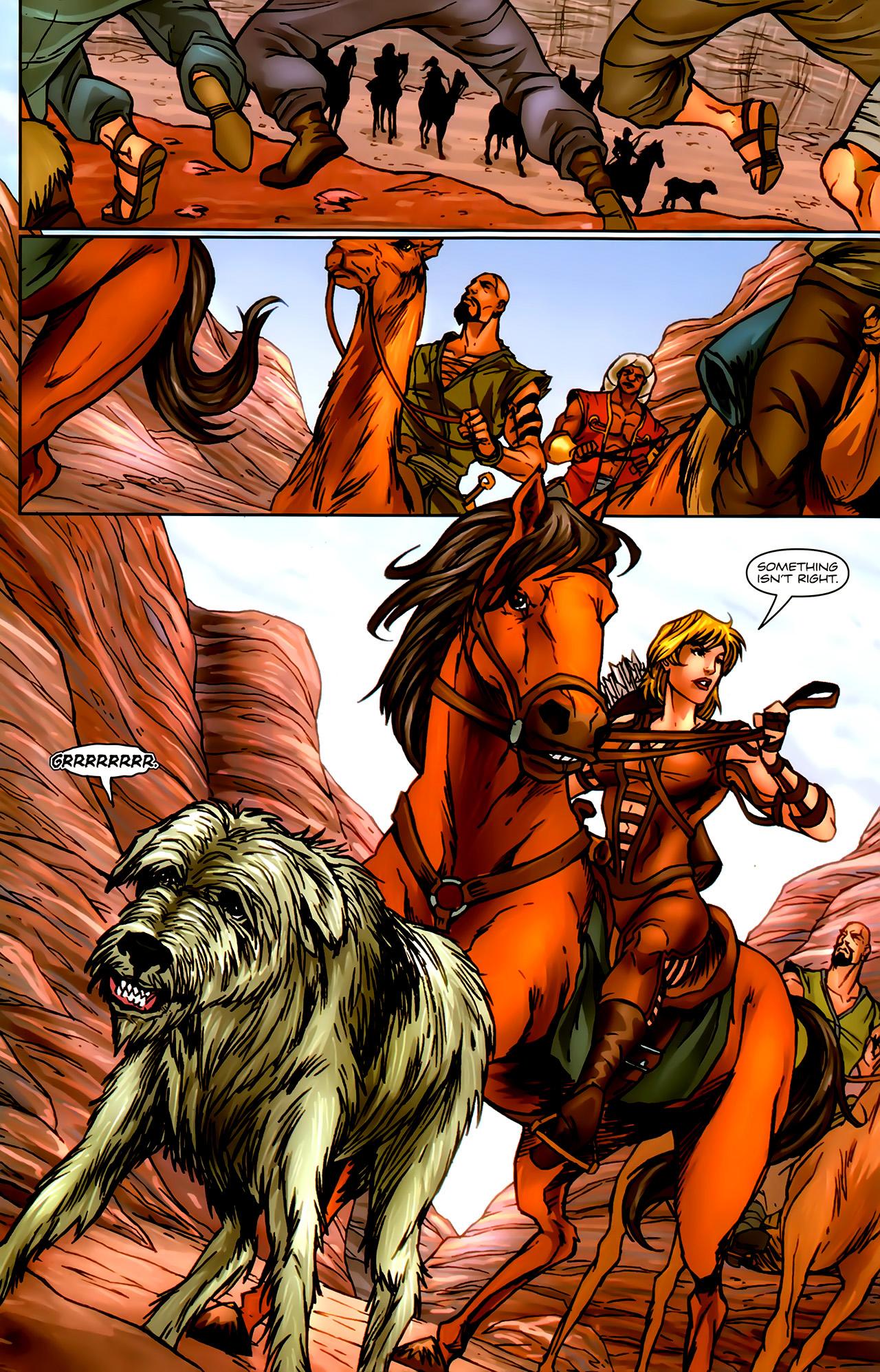 Read online 1001 Arabian Nights: The Adventures of Sinbad comic -  Issue #9 - 14