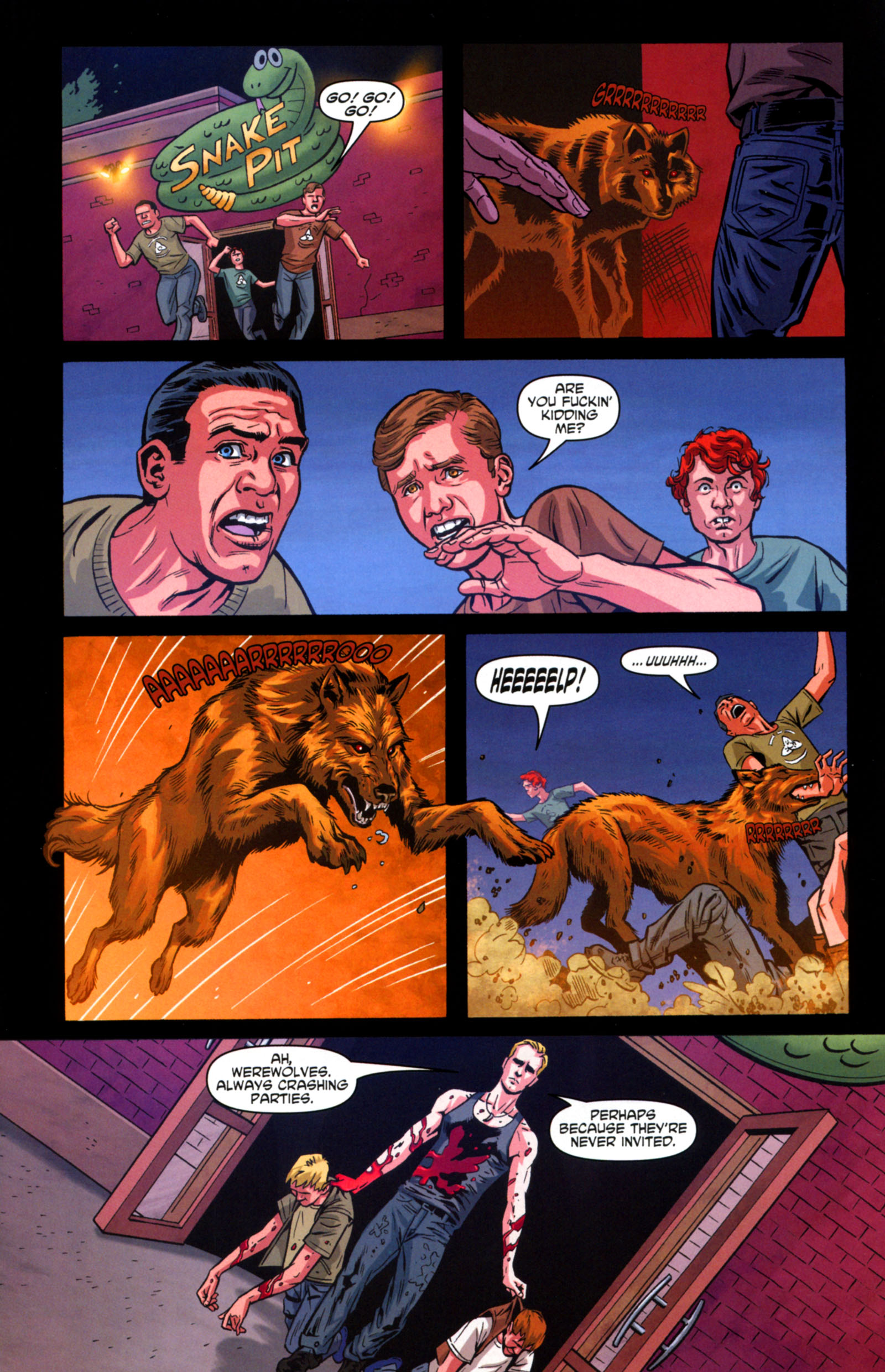 Read online True Blood: Tainted Love comic -  Issue #6 - 13
