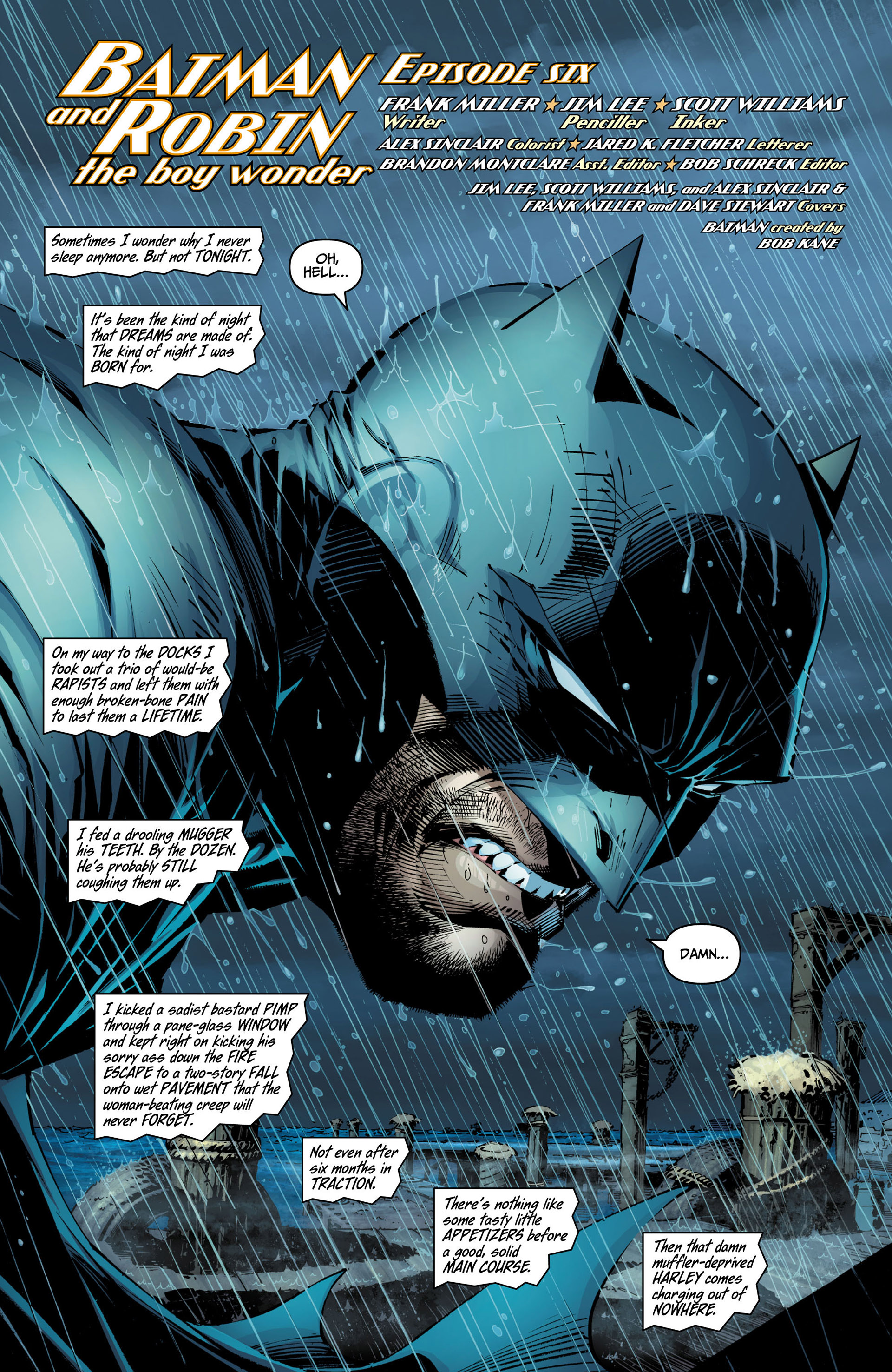 Read online All Star Batman & Robin, The Boy Wonder comic -  Issue #6 - 3