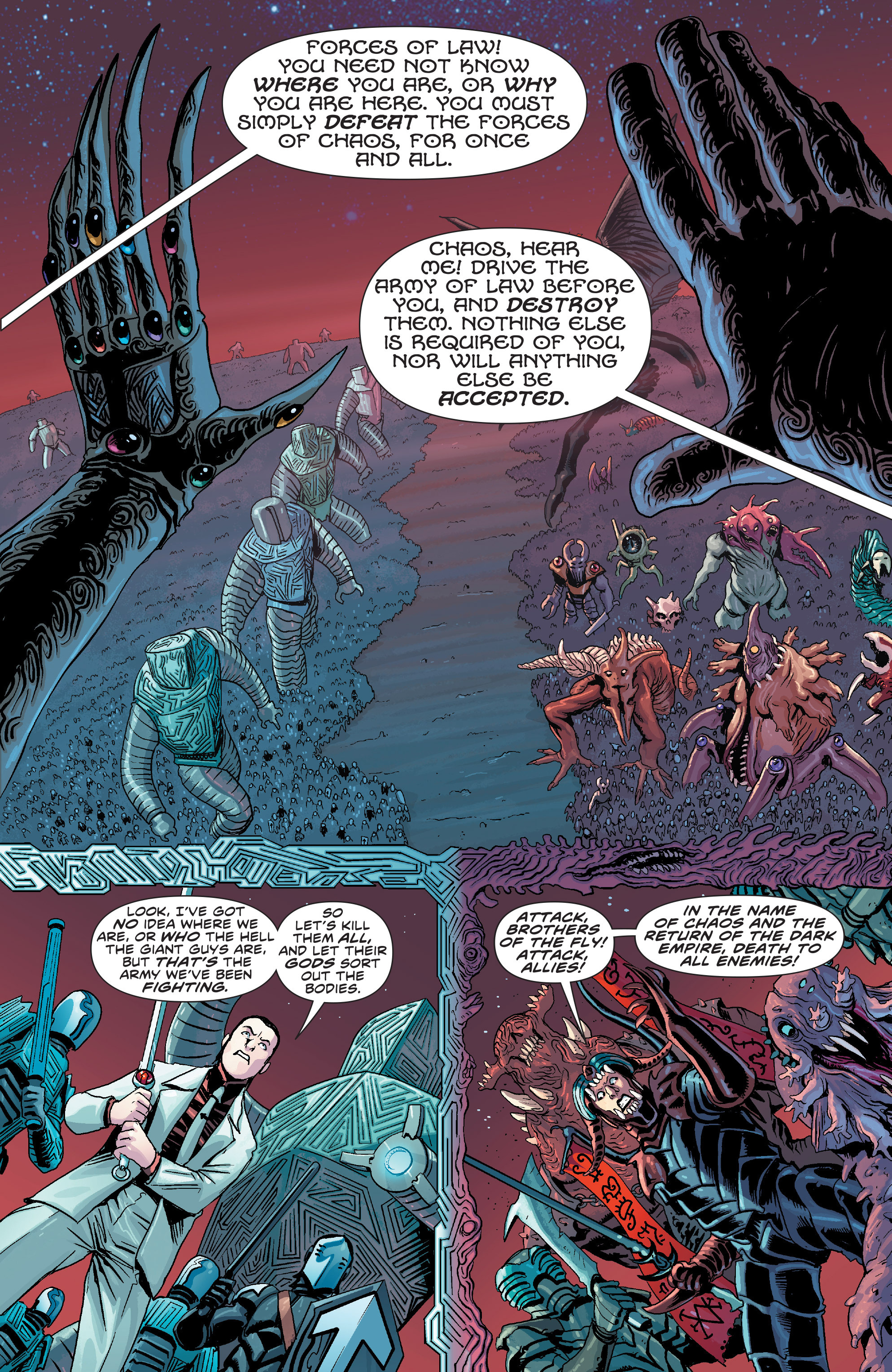 Read online Elric: The Balance Lost comic -  Issue # TPB 3 - 44