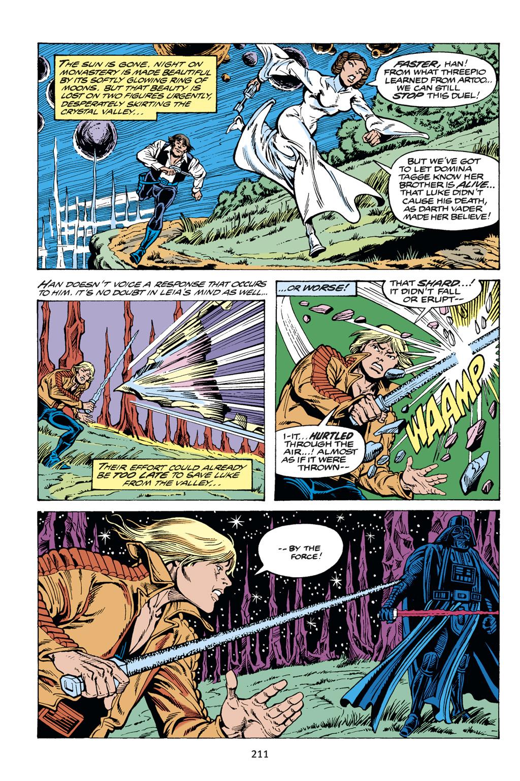 Read online Star Wars Omnibus comic -  Issue # Vol. 14 - 210