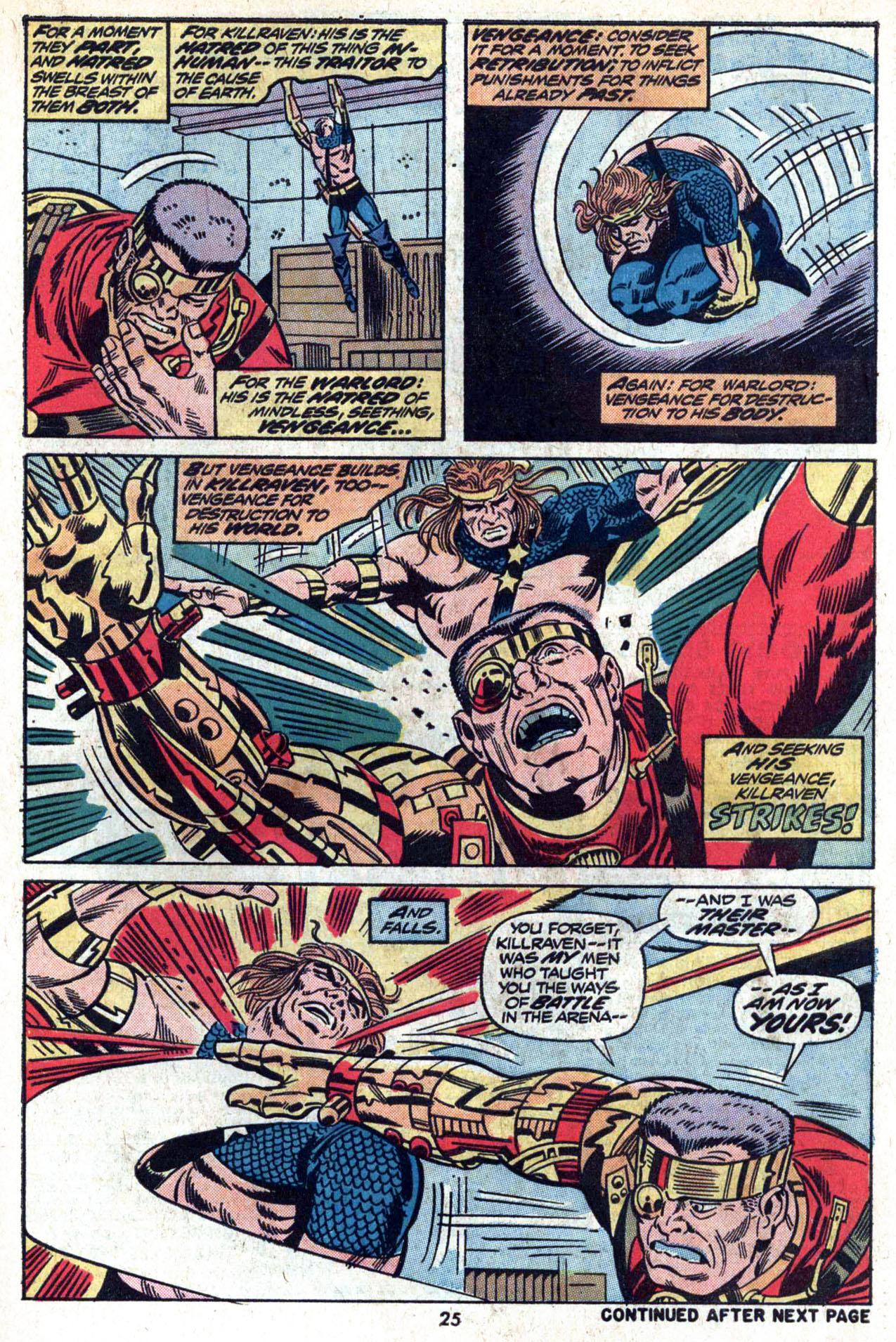 Read online Amazing Adventures (1970) comic -  Issue #20 - 27
