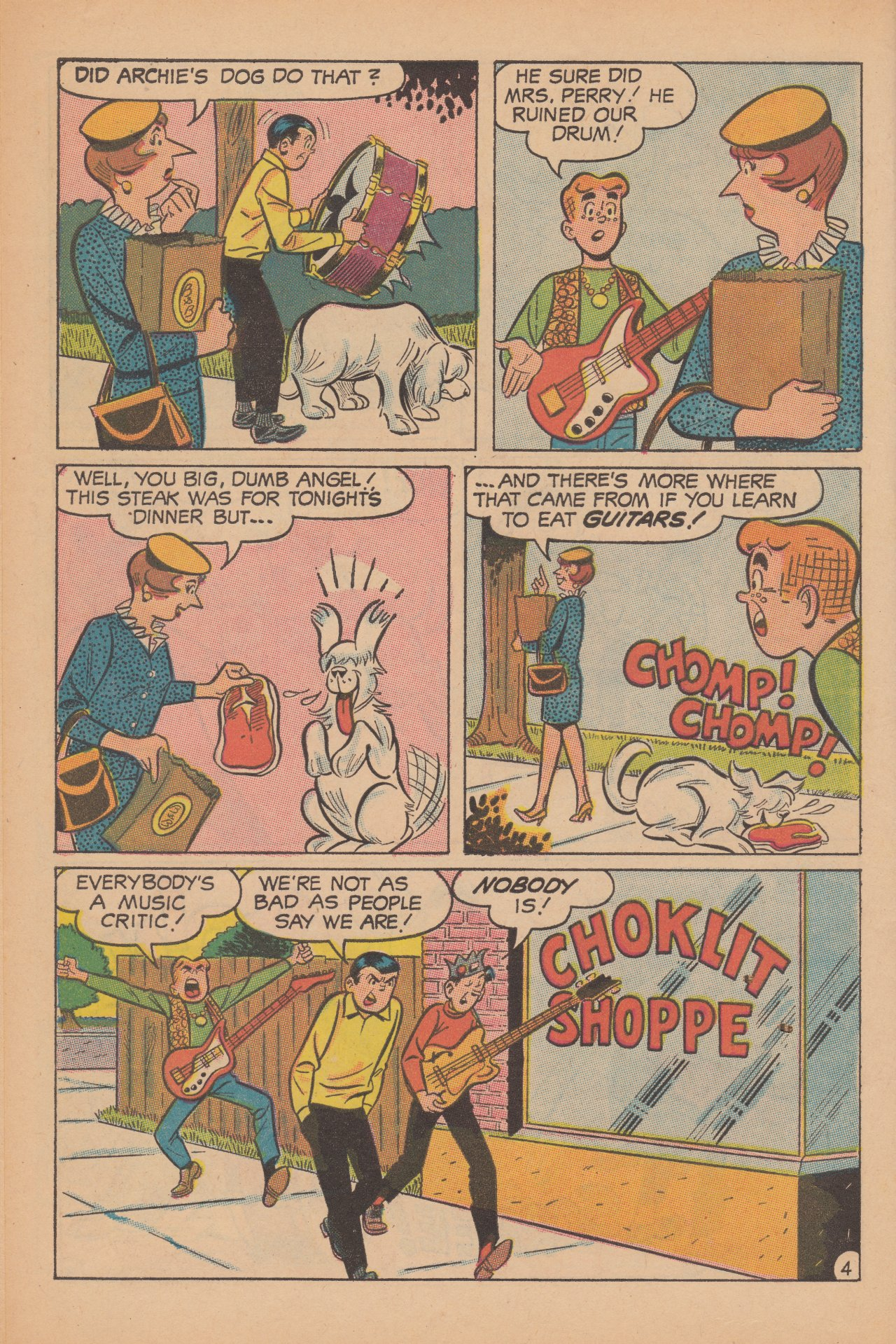 Read online Archie (1960) comic -  Issue #188 - 6