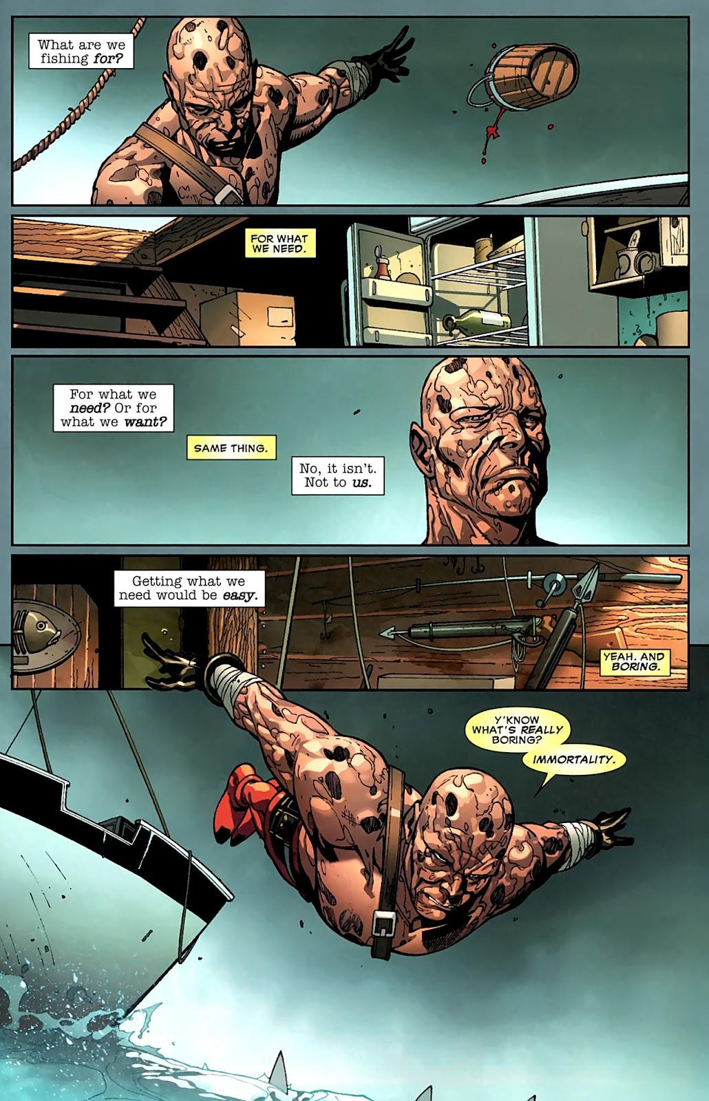 Read online Deadpool (2008) comic -  Issue #15 - 4