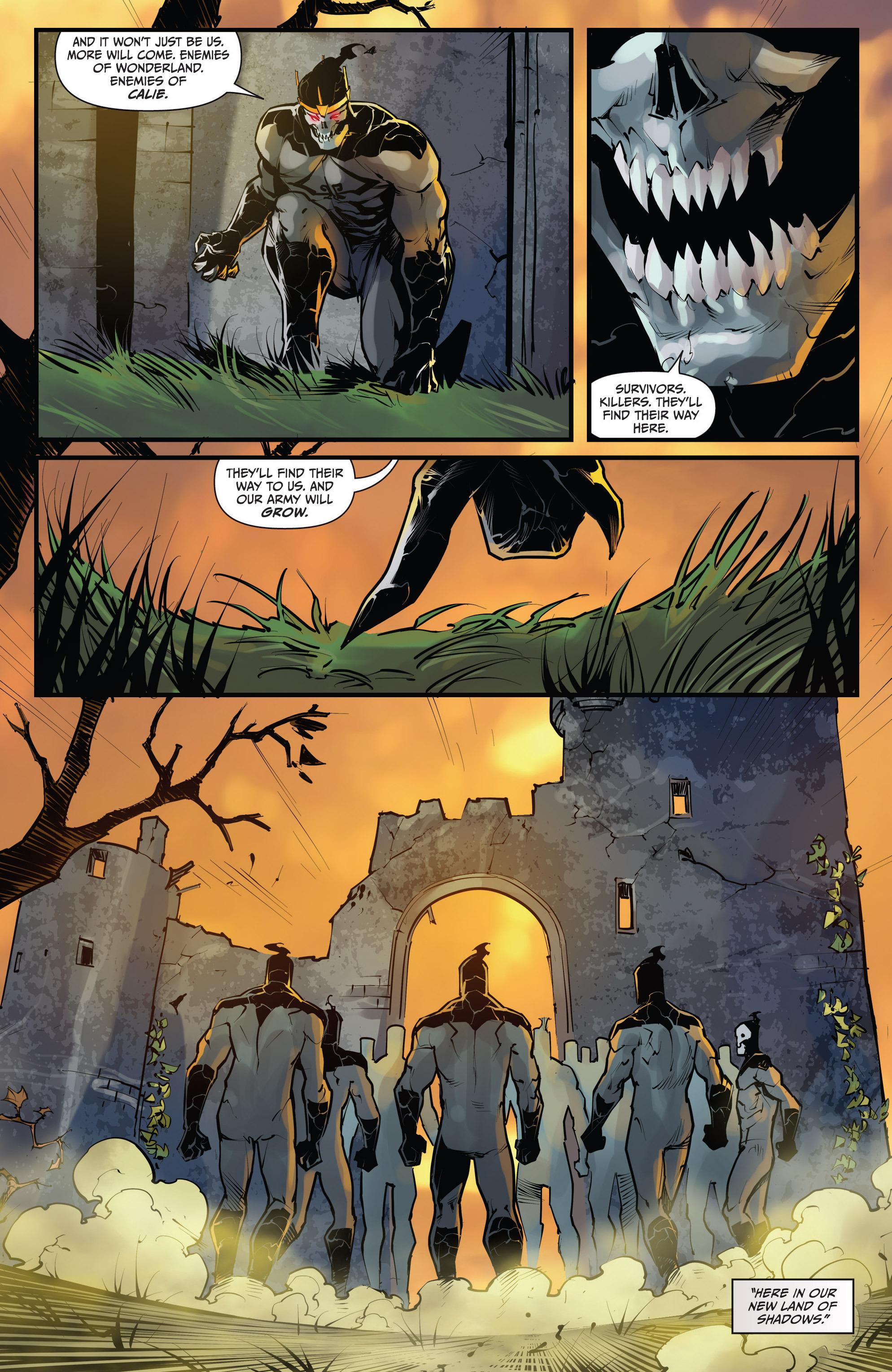 Read online Grimm Fairy Tales vs. Wonderland comic -  Issue #4 - 23