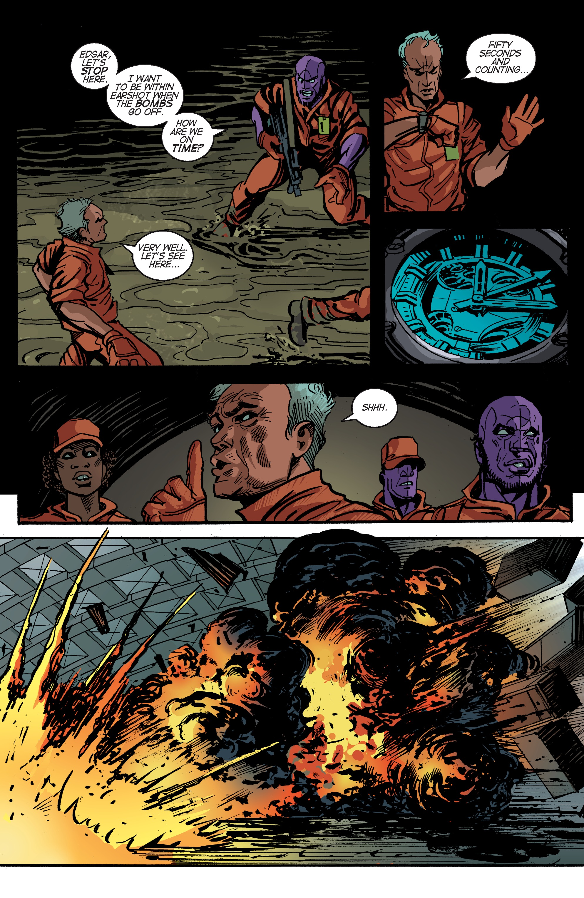 Read online Planetoid Praxis comic -  Issue #5 - 14