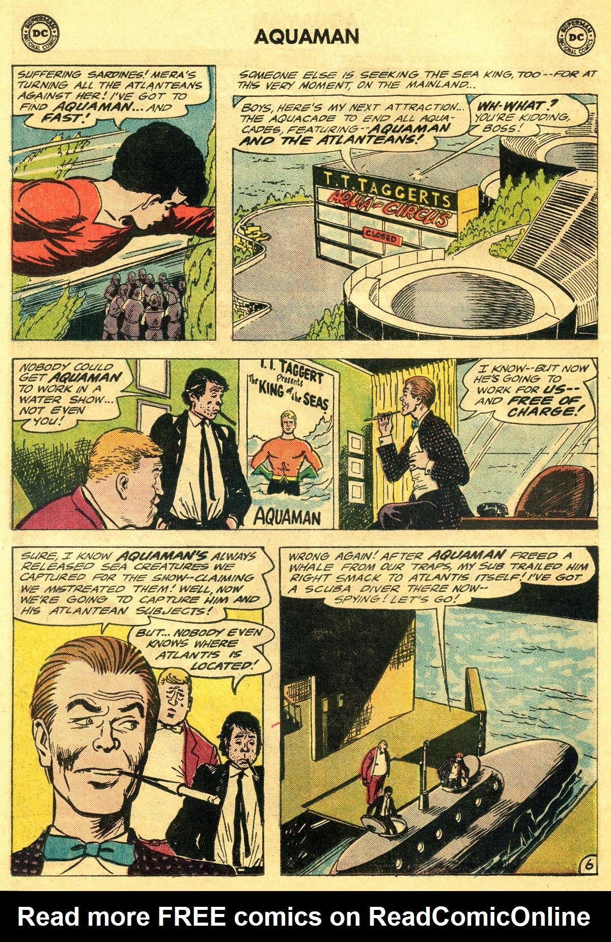 Read online Aquaman (1962) comic -  Issue #19 - 8
