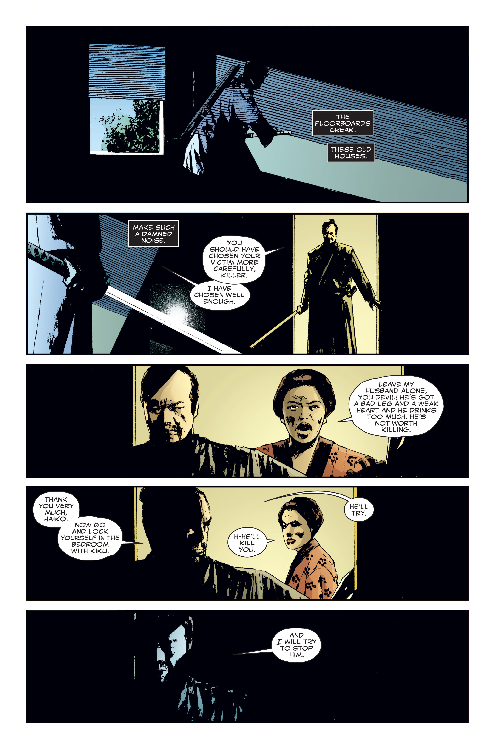Read online 5 Ronin (2011) comic -  Issue #3 - 16