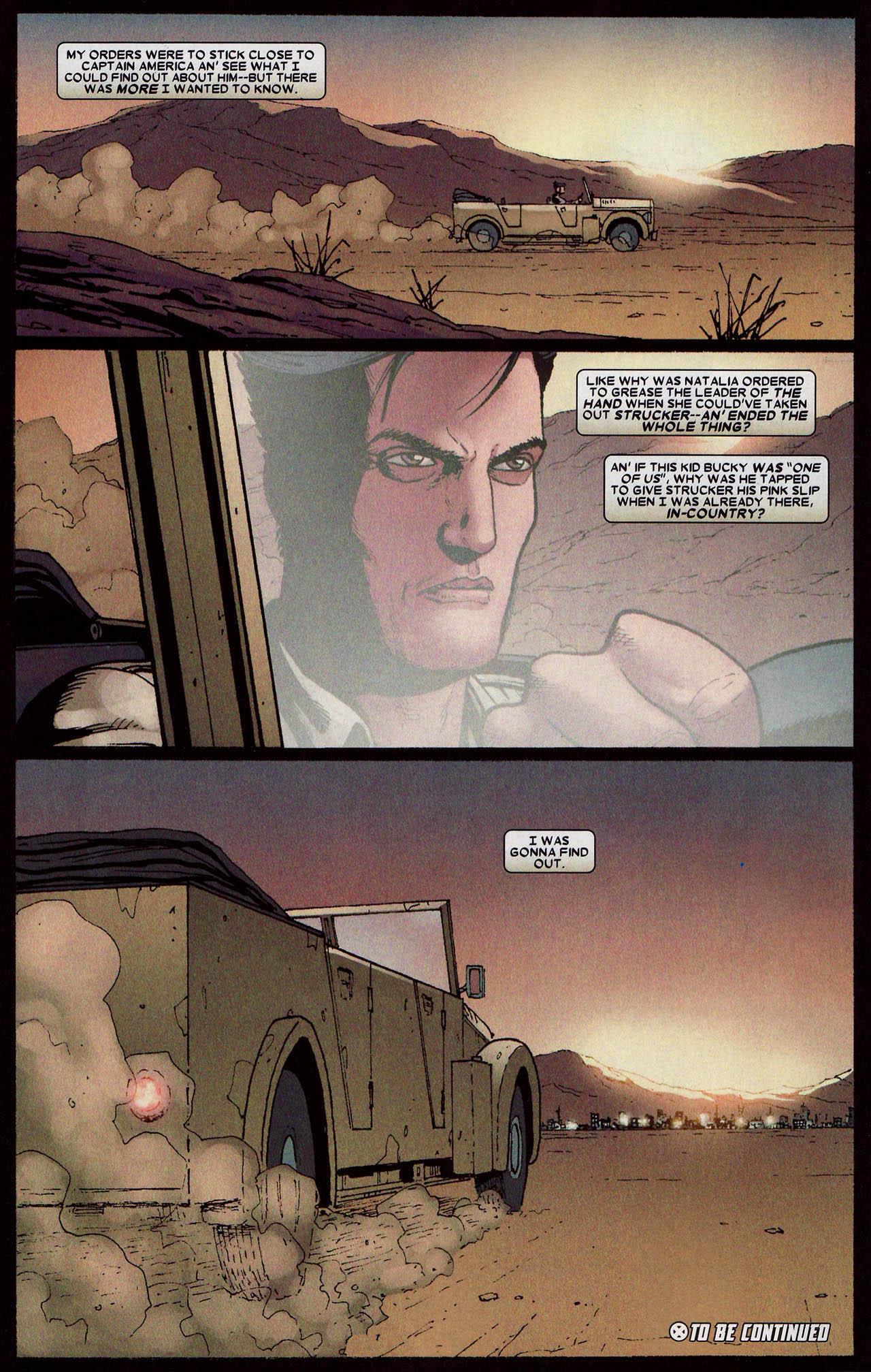 Read online Wolverine: Origins comic -  Issue #18 - 23