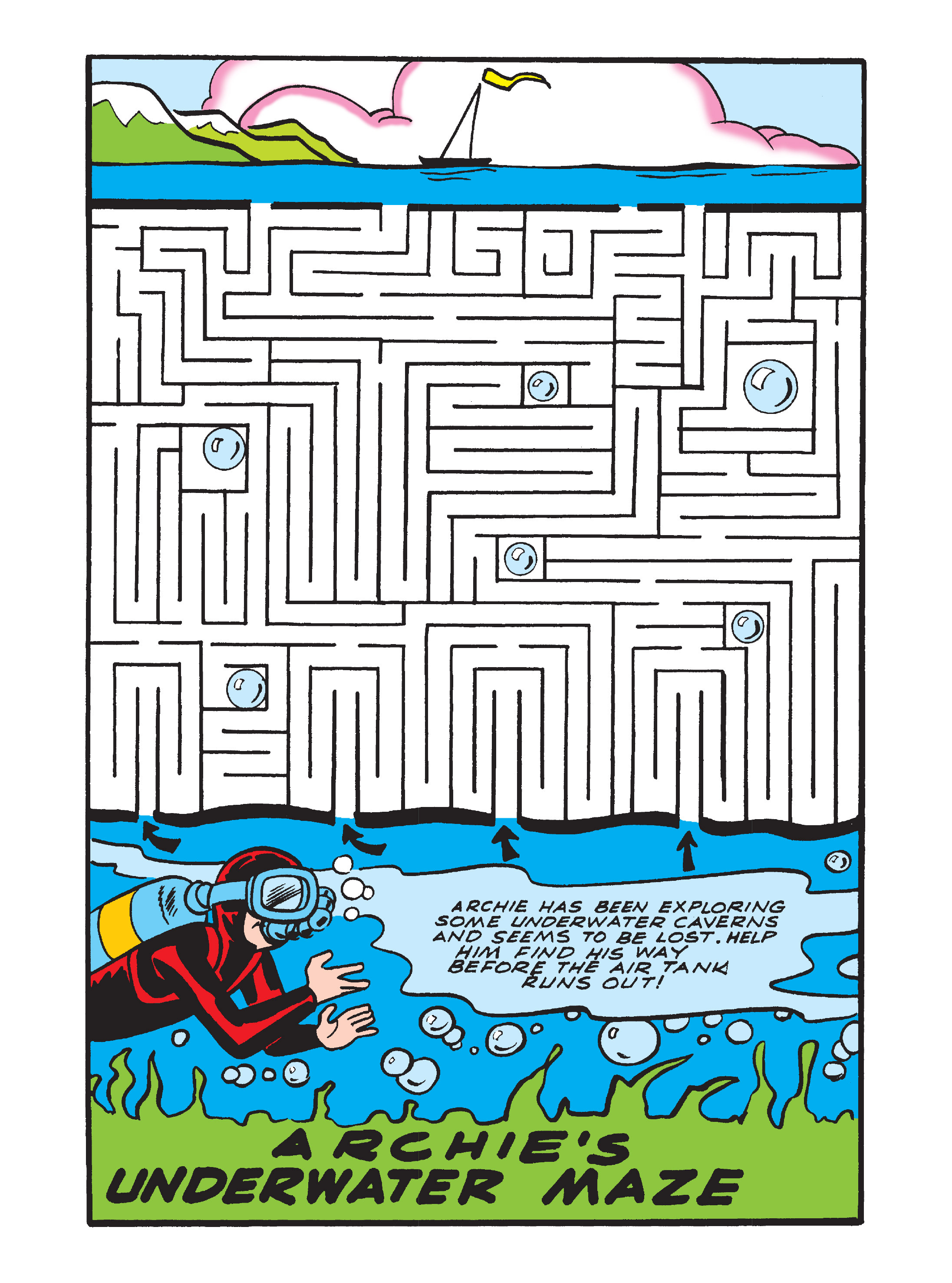Read online Archie's Funhouse Double Digest comic -  Issue #7 - 123