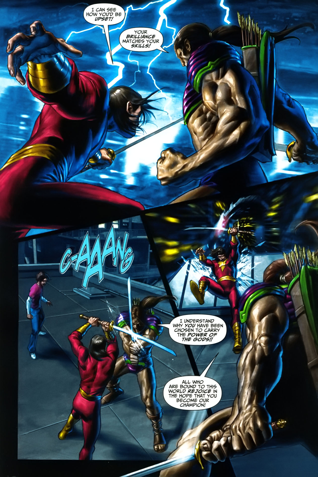 Read online Trials of Shazam comic -  Issue #9 - 4