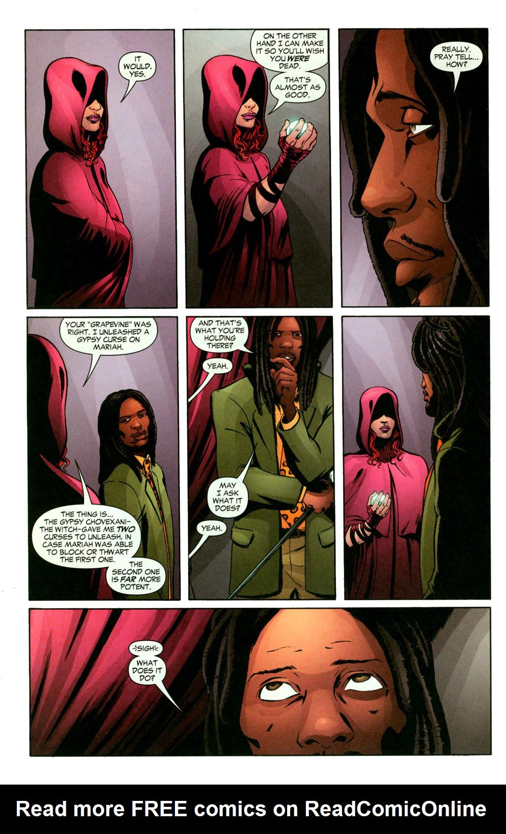 Read online Fallen Angel (2003) comic -  Issue #11 - 10