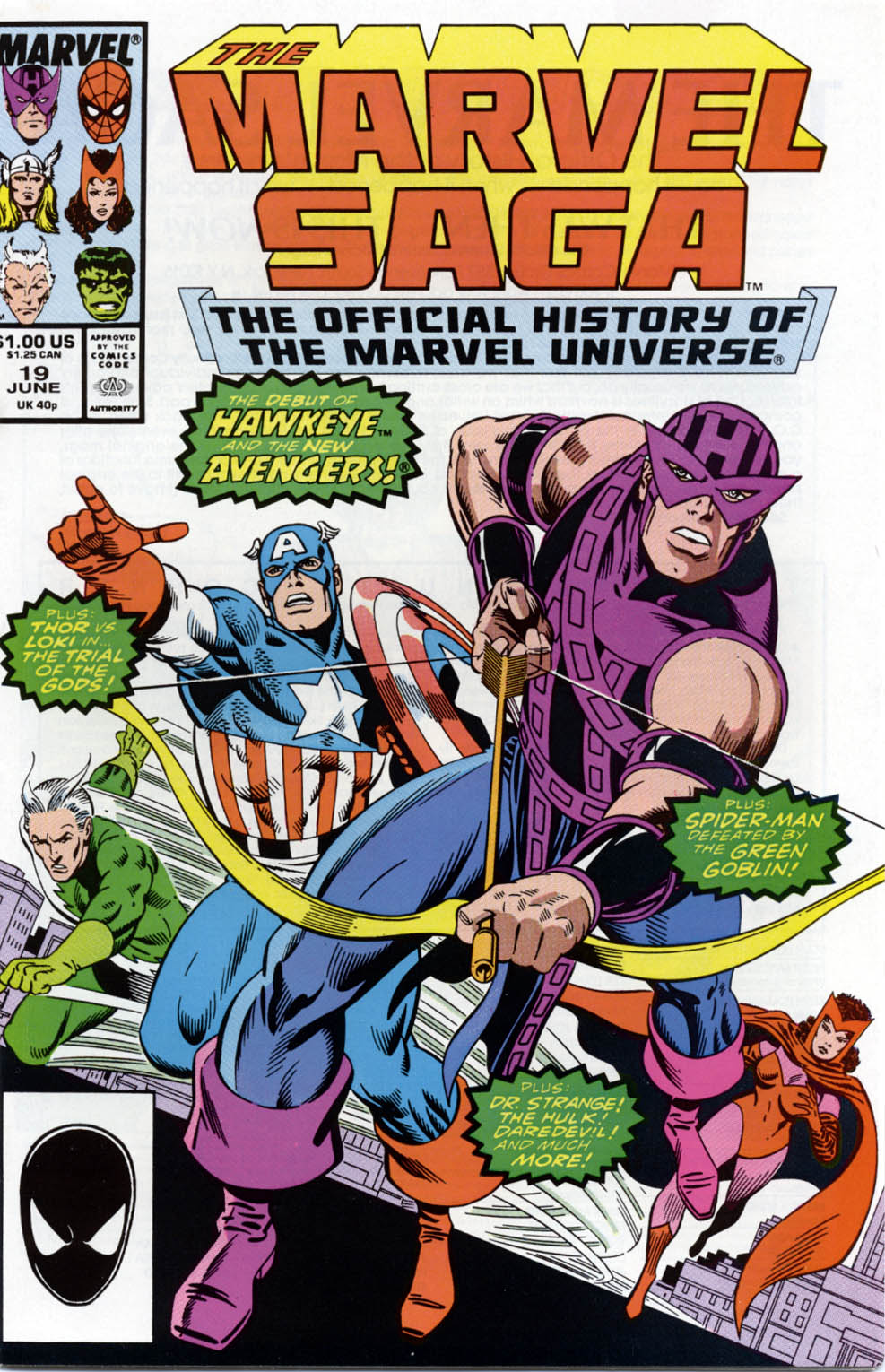 Marvel Saga: The Official History of the Marvel Universe 19 Page 1