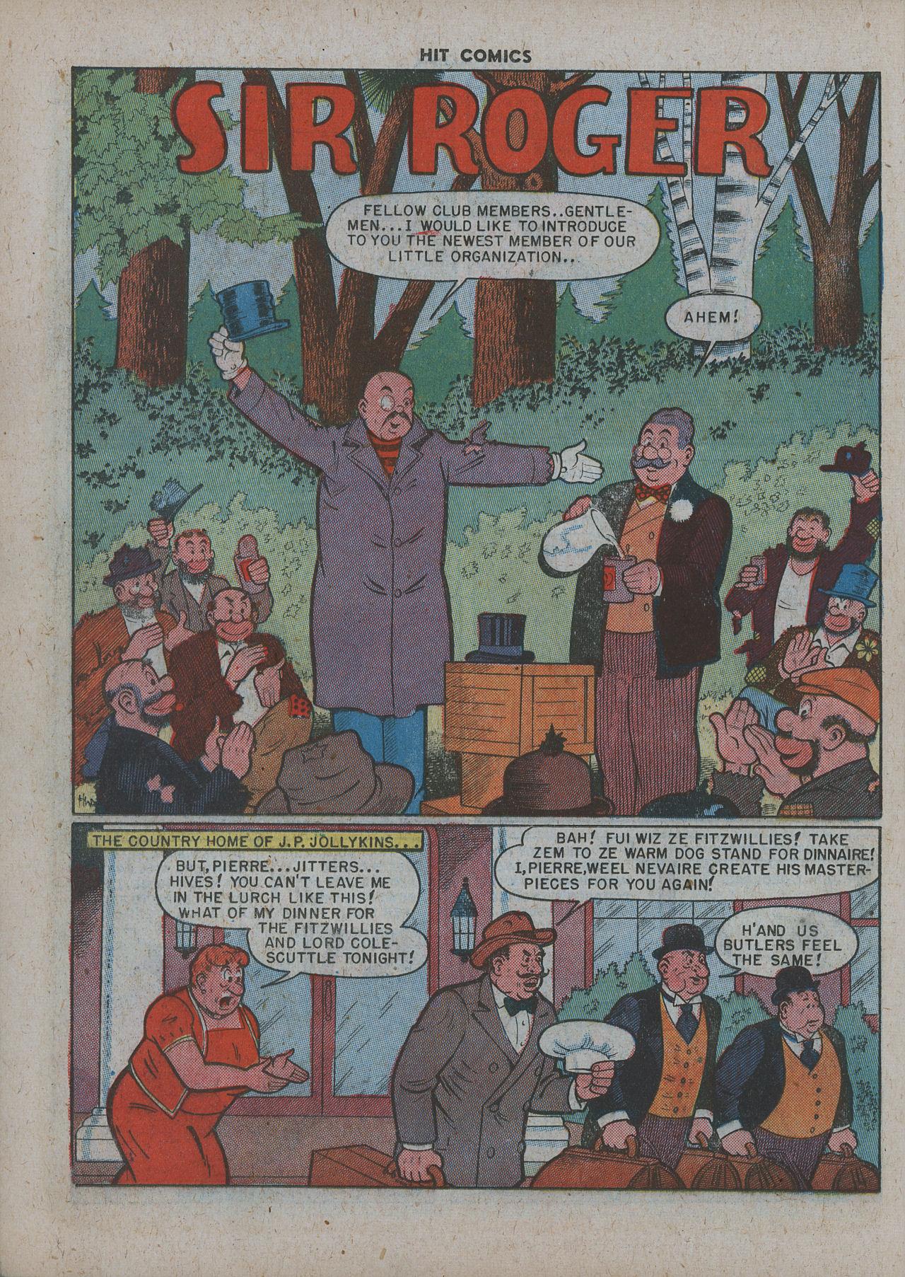 Read online Hit Comics comic -  Issue #63 - 16