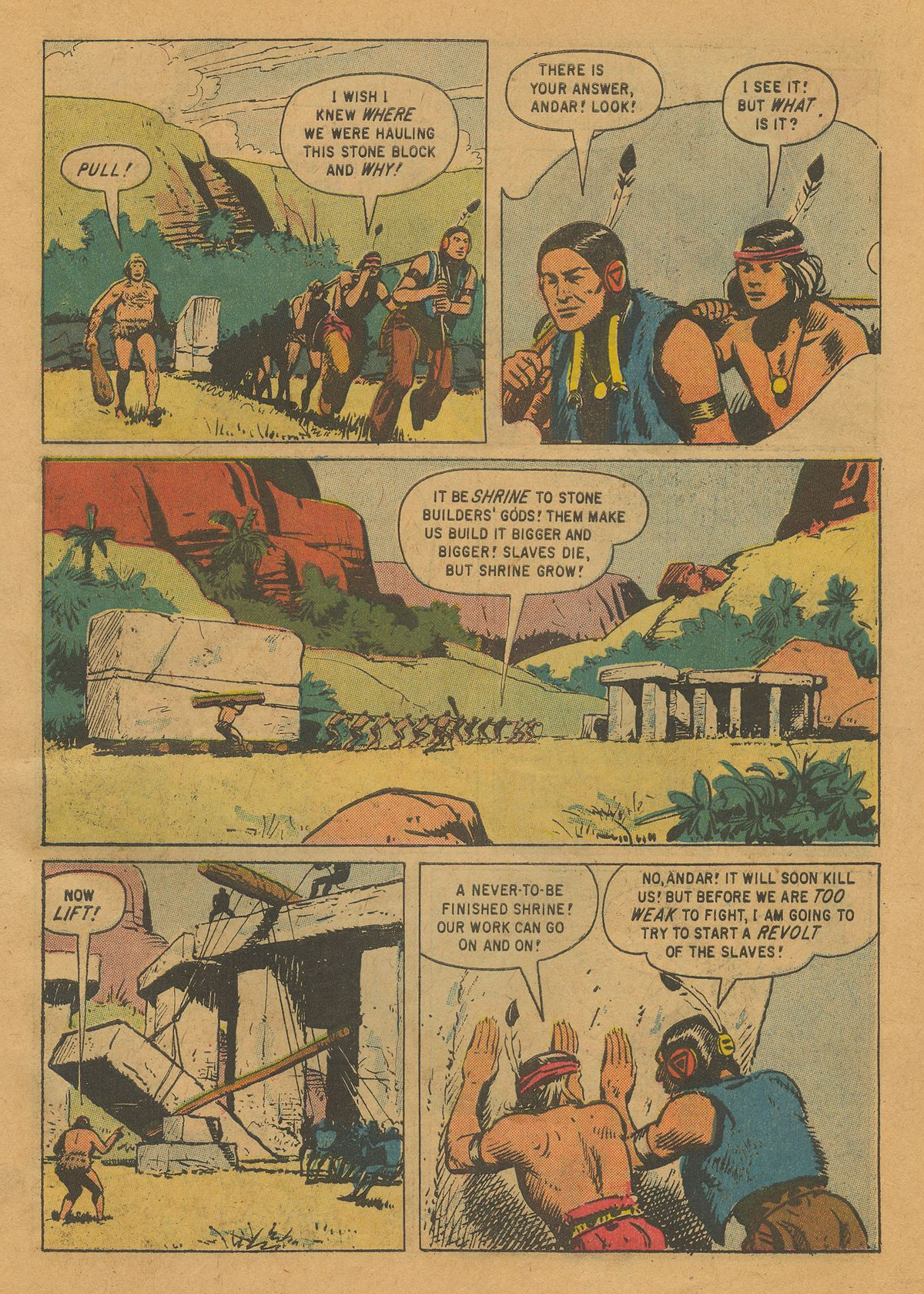 Read online Turok, Son of Stone comic -  Issue #22 - 27