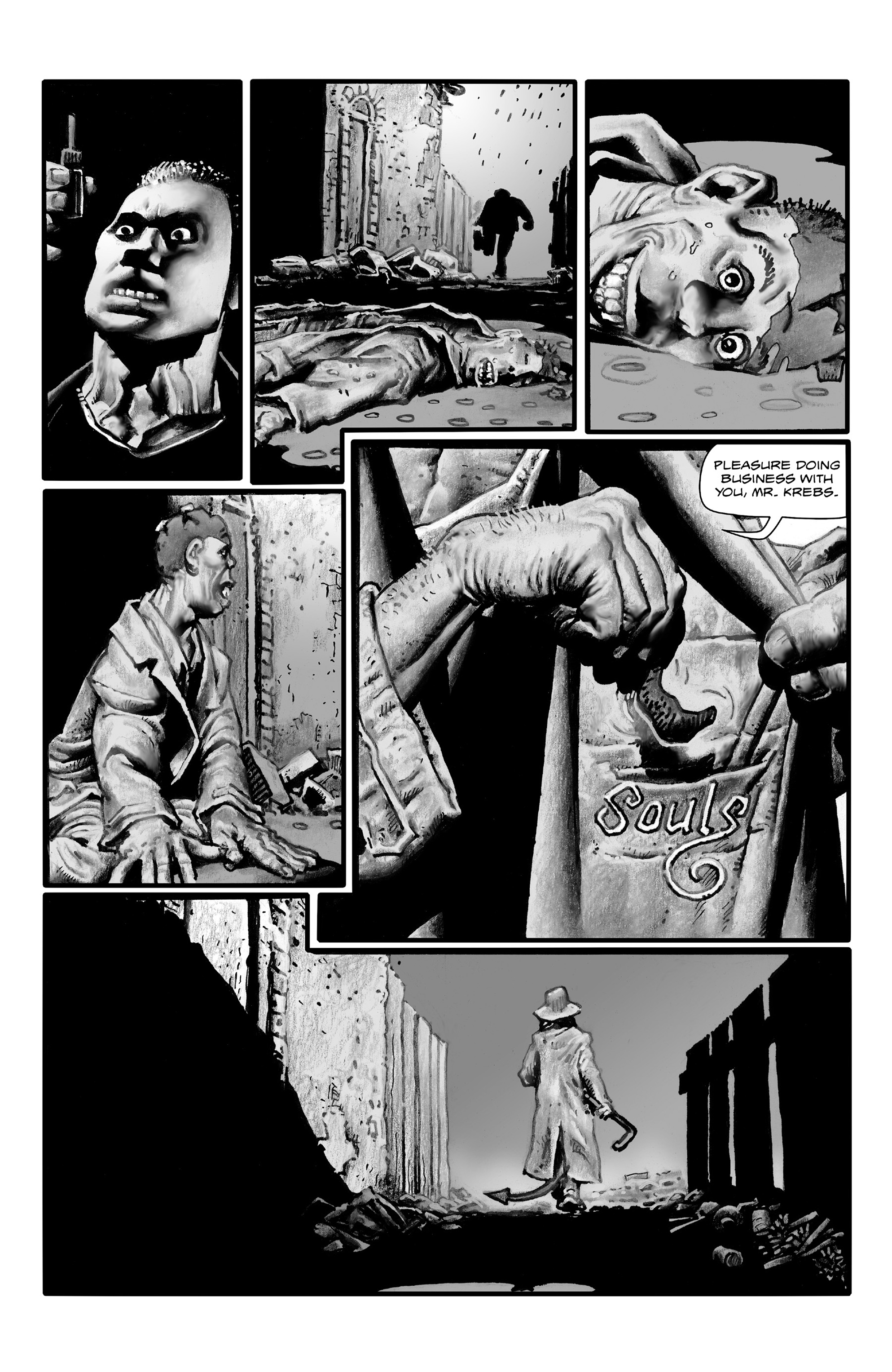 Read online Shadows on the Grave comic -  Issue #4 - 15