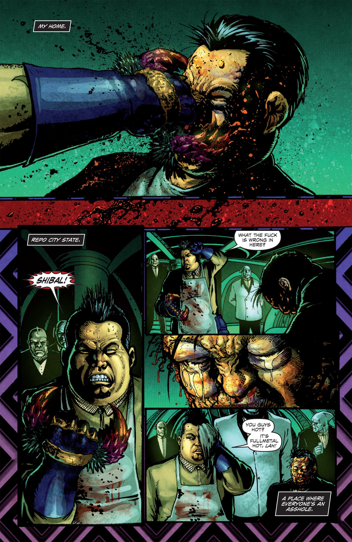 Read online Ballistic (2013) comic -  Issue #1 - 3