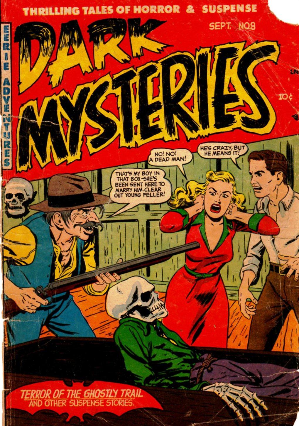 Dark Mysteries 8 Page 1