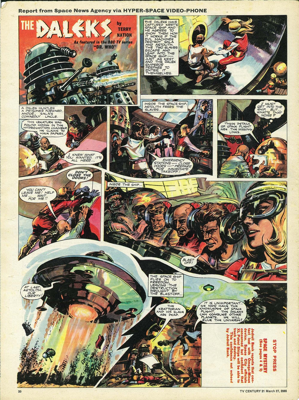 Read online TV Century 21 (TV 21) comic -  Issue #10 - 19