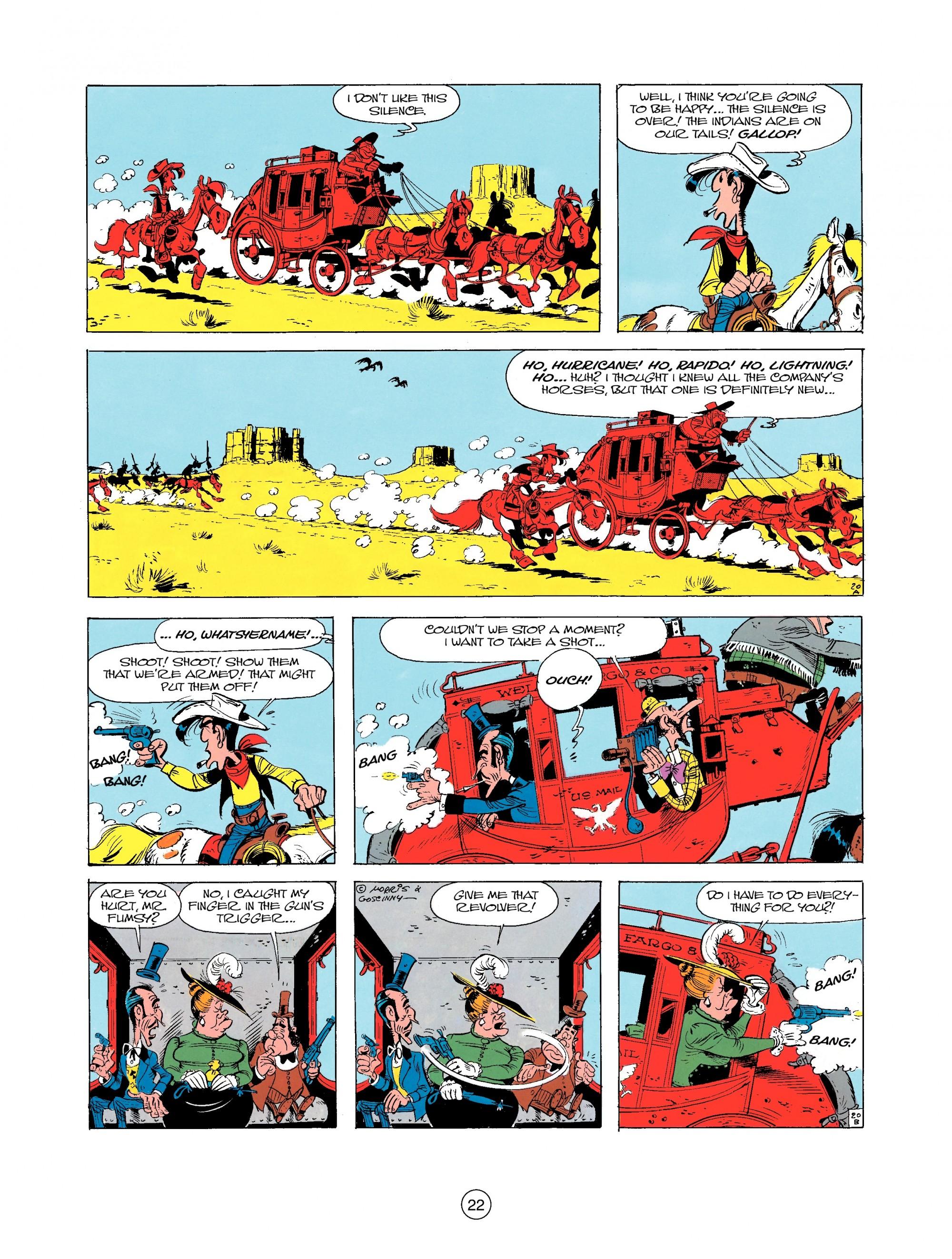 Read online A Lucky Luke Adventure comic -  Issue #25 - 22
