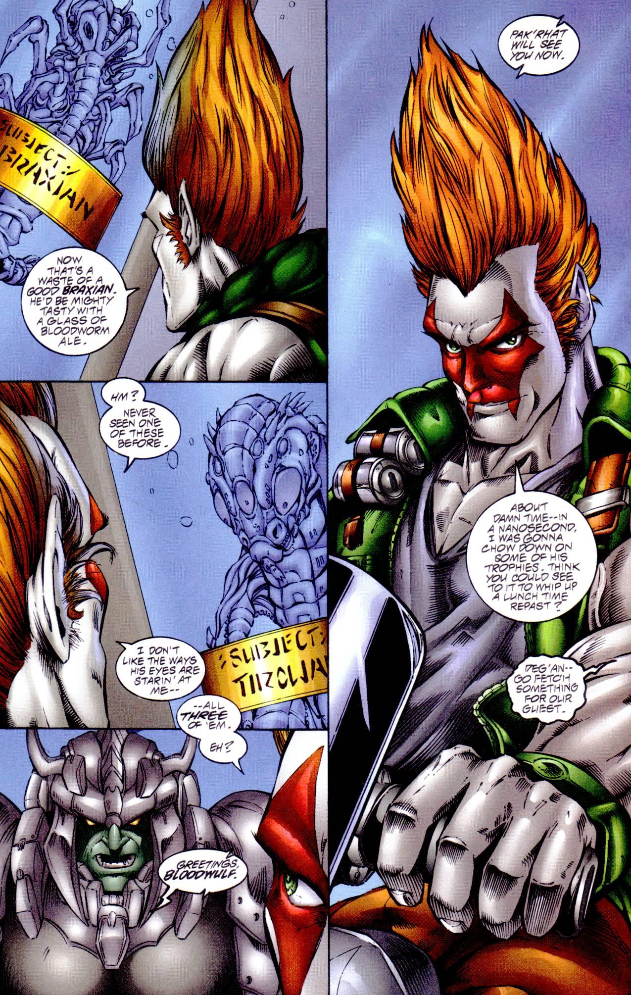 Read online Avengelyne (1996) comic -  Issue #14 - 4