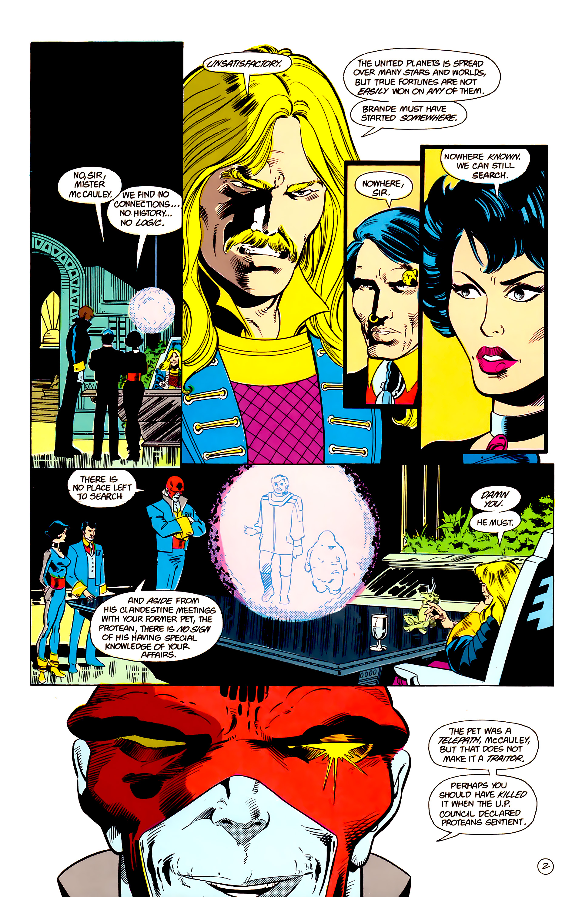 Legion of Super-Heroes (1984) 17 Page 3