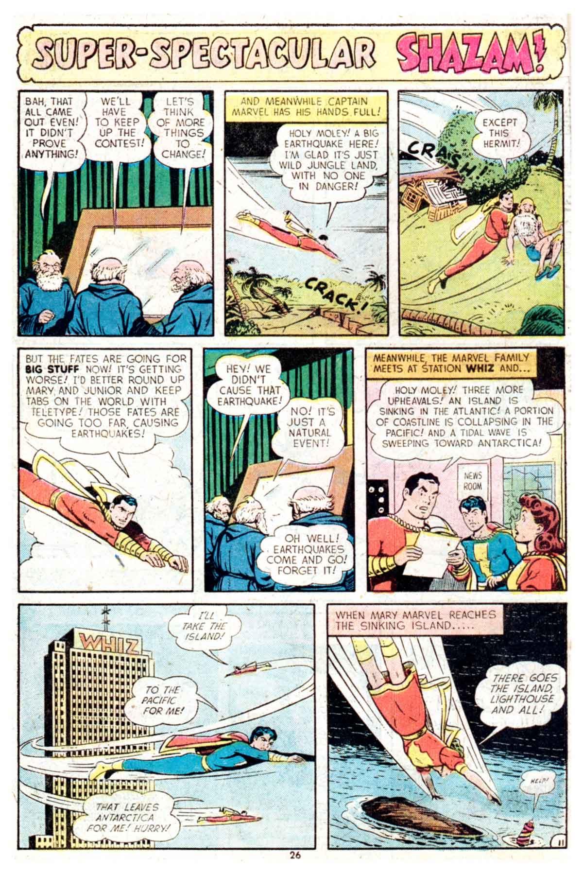 Read online Shazam! (1973) comic -  Issue #16 - 26