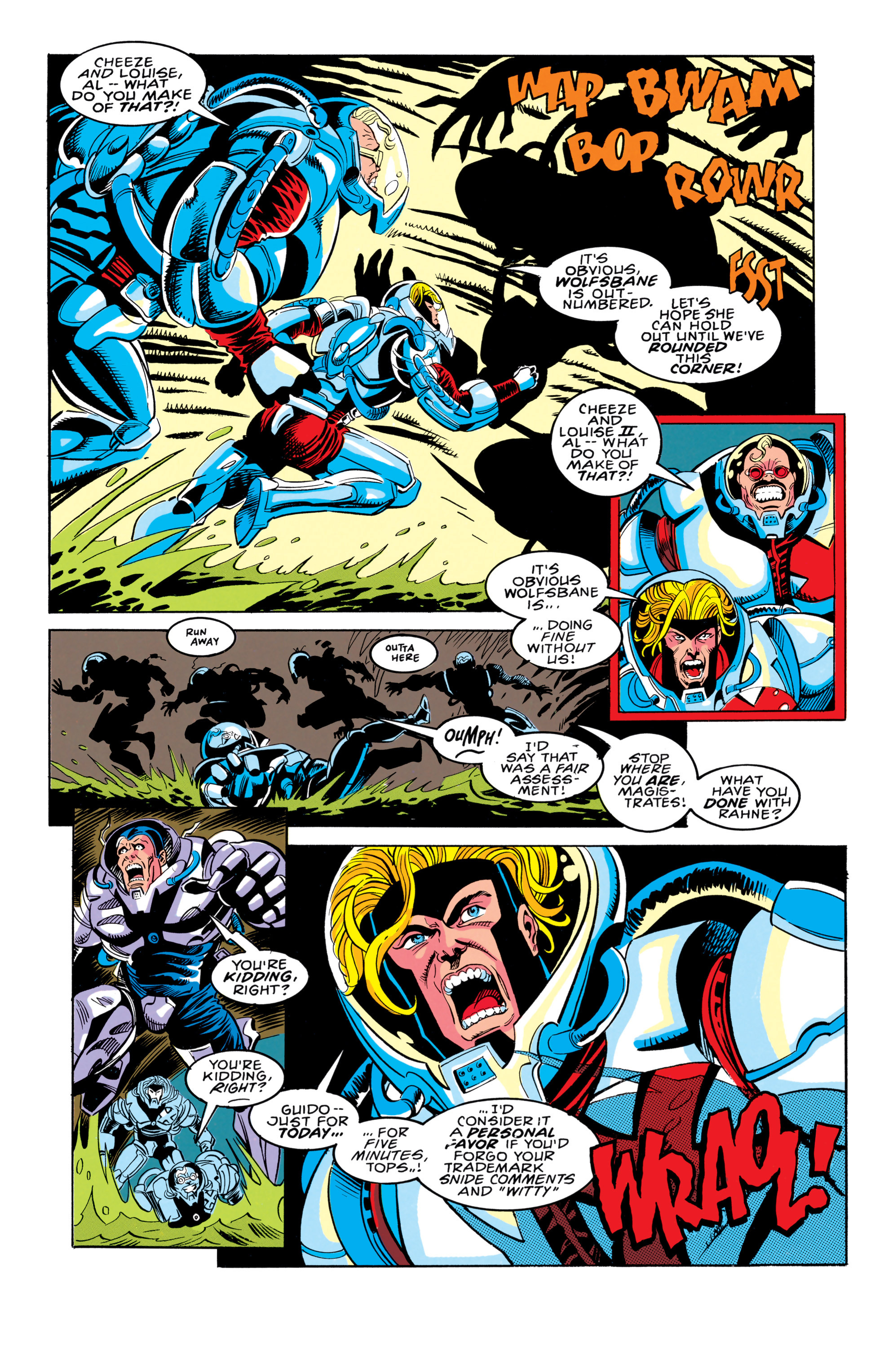 Read online X-Factor (1986) comic -  Issue #91 - 8