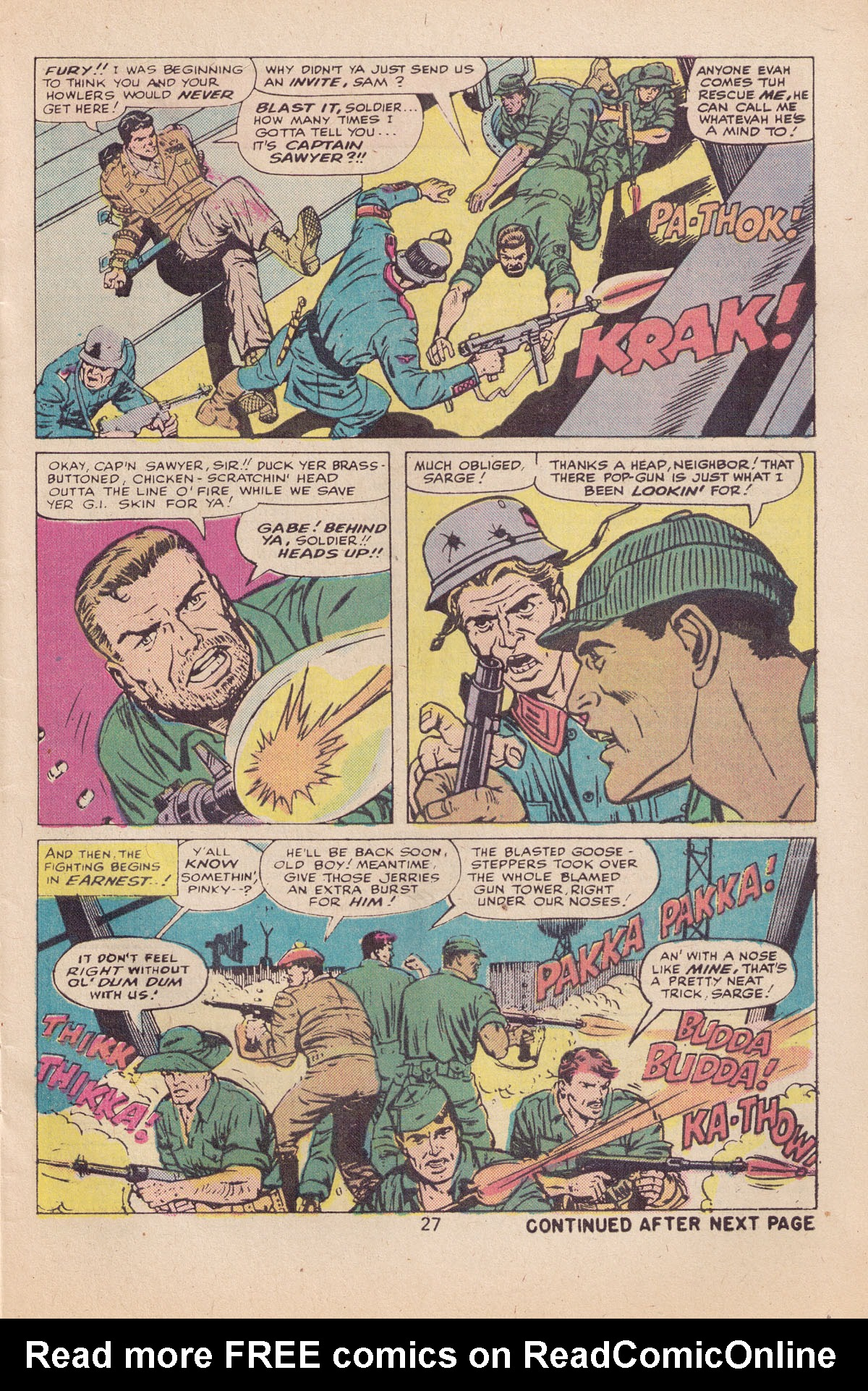 Read online Sgt. Fury comic -  Issue #127 - 29