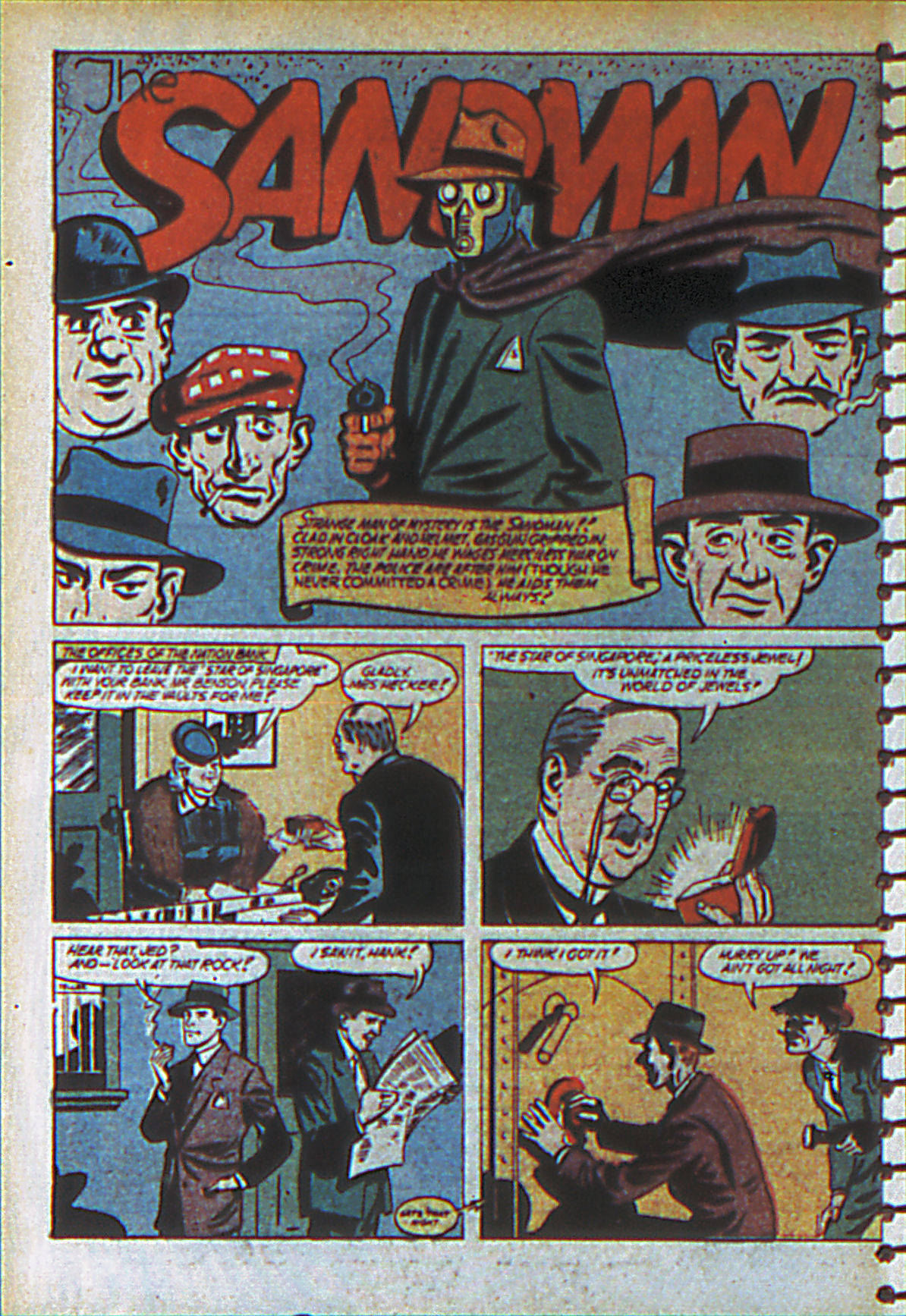 Read online Adventure Comics (1938) comic -  Issue #55 - 57
