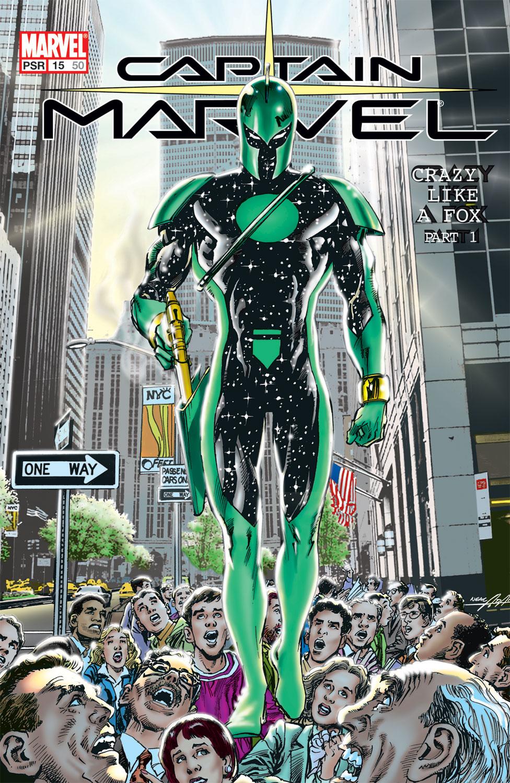 Captain Marvel (2002) Issue #15 #15 - English 1
