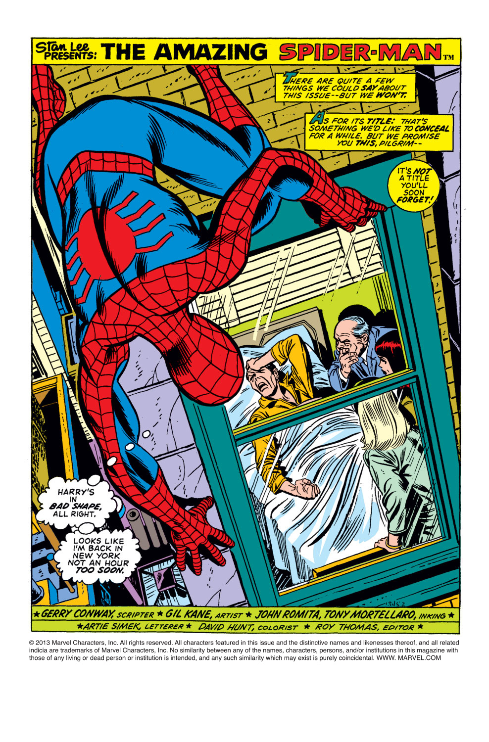 The Amazing Spider-Man (1963) 121 Page 1