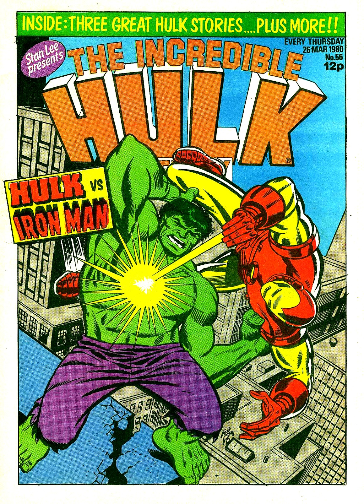 The Incredible Hulk Weekly 56 Page 1