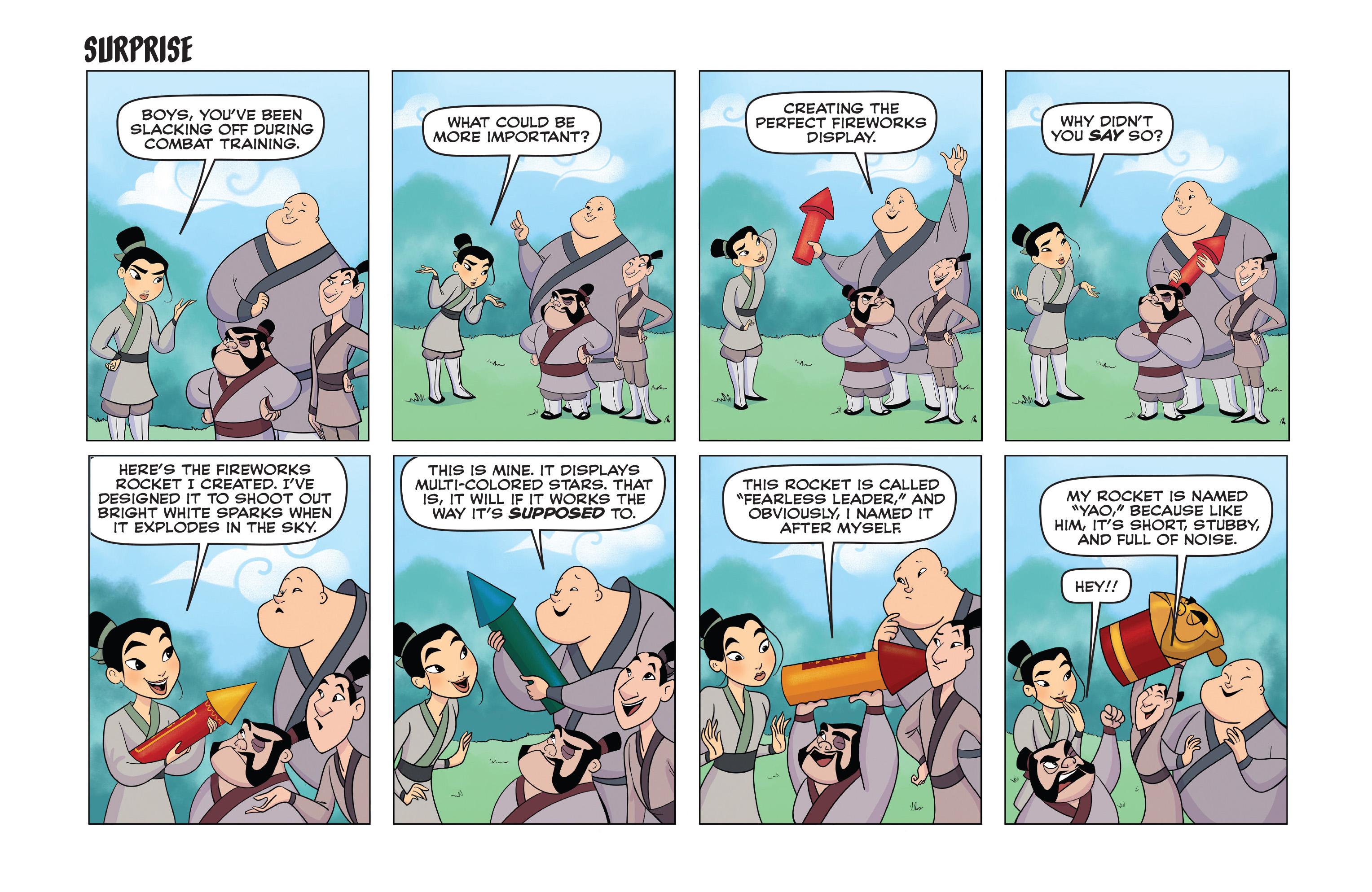 Read online Disney Princess comic -  Issue #11 - 16