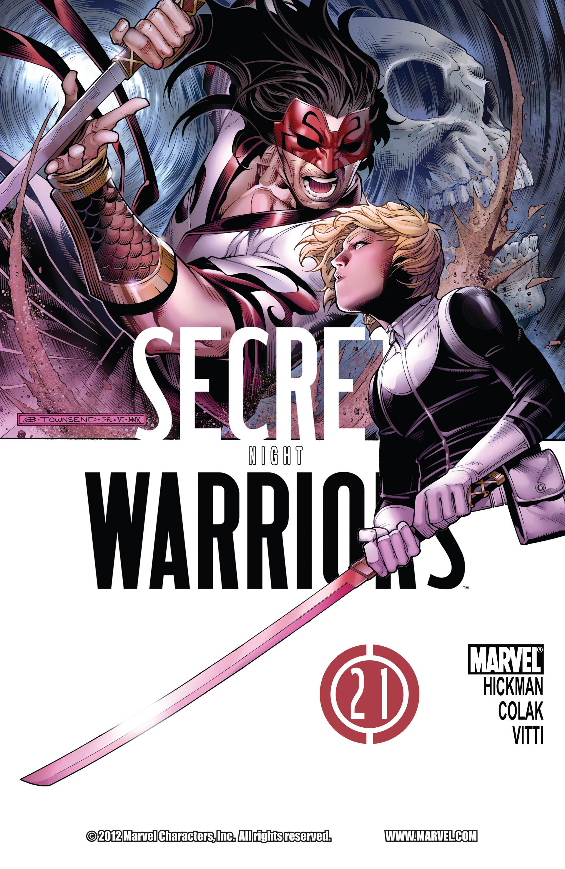 Read online Secret Warriors comic -  Issue #21 - 2