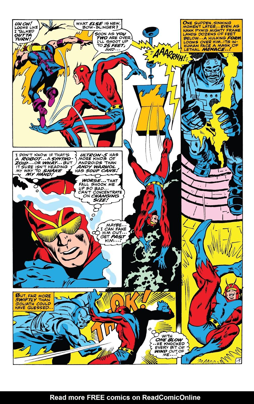 Read online Marvel Tales: Avengers comic -  Issue # Full - 41