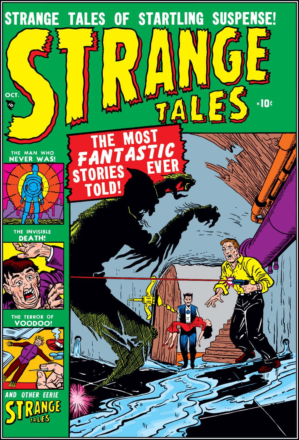 Strange Tales (1951) issue 3 - Page 1