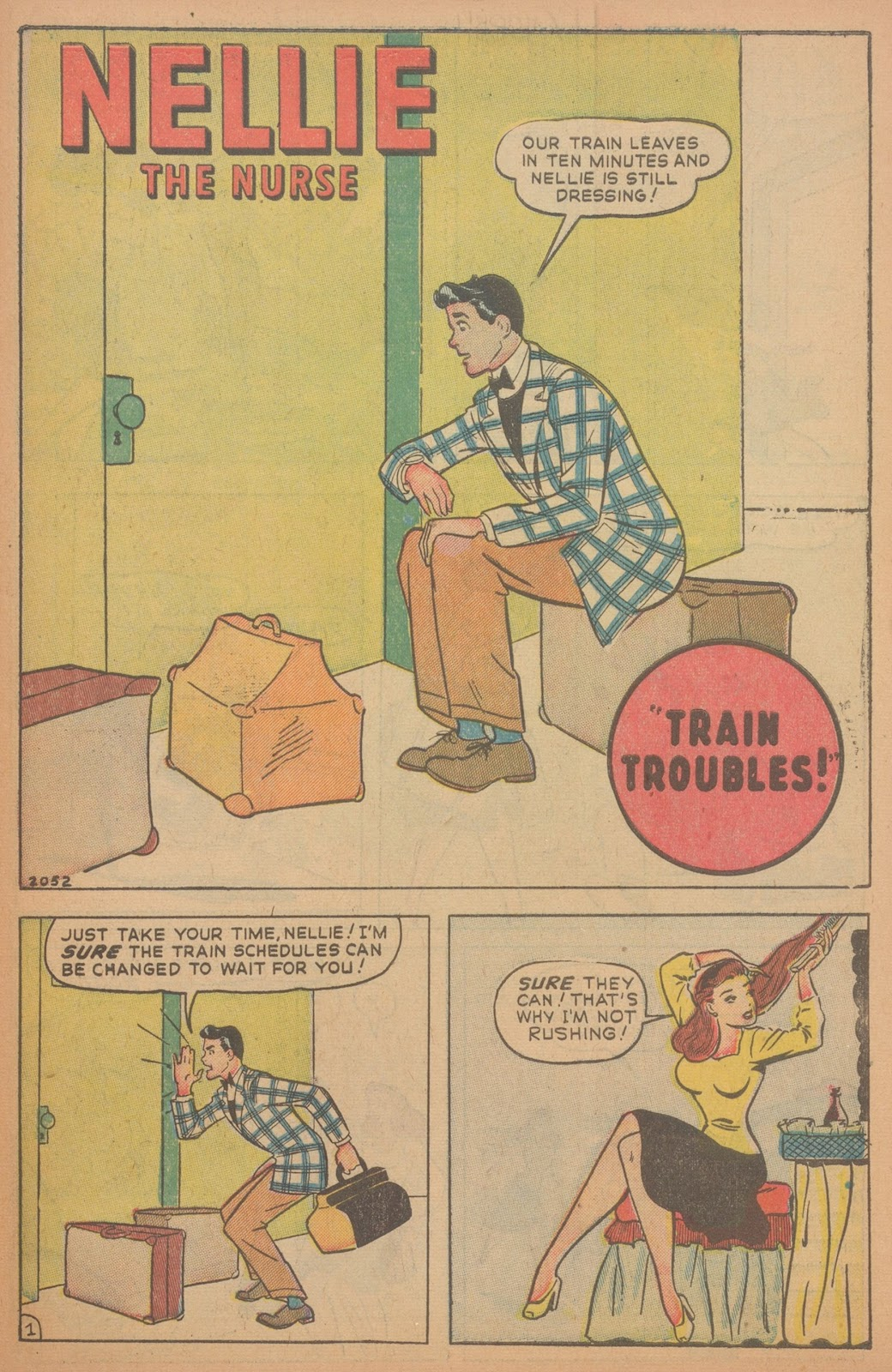 Read online Nellie The Nurse (1945) comic -  Issue #18 - 41
