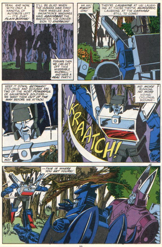 The Transformers (UK) 300 Page 2