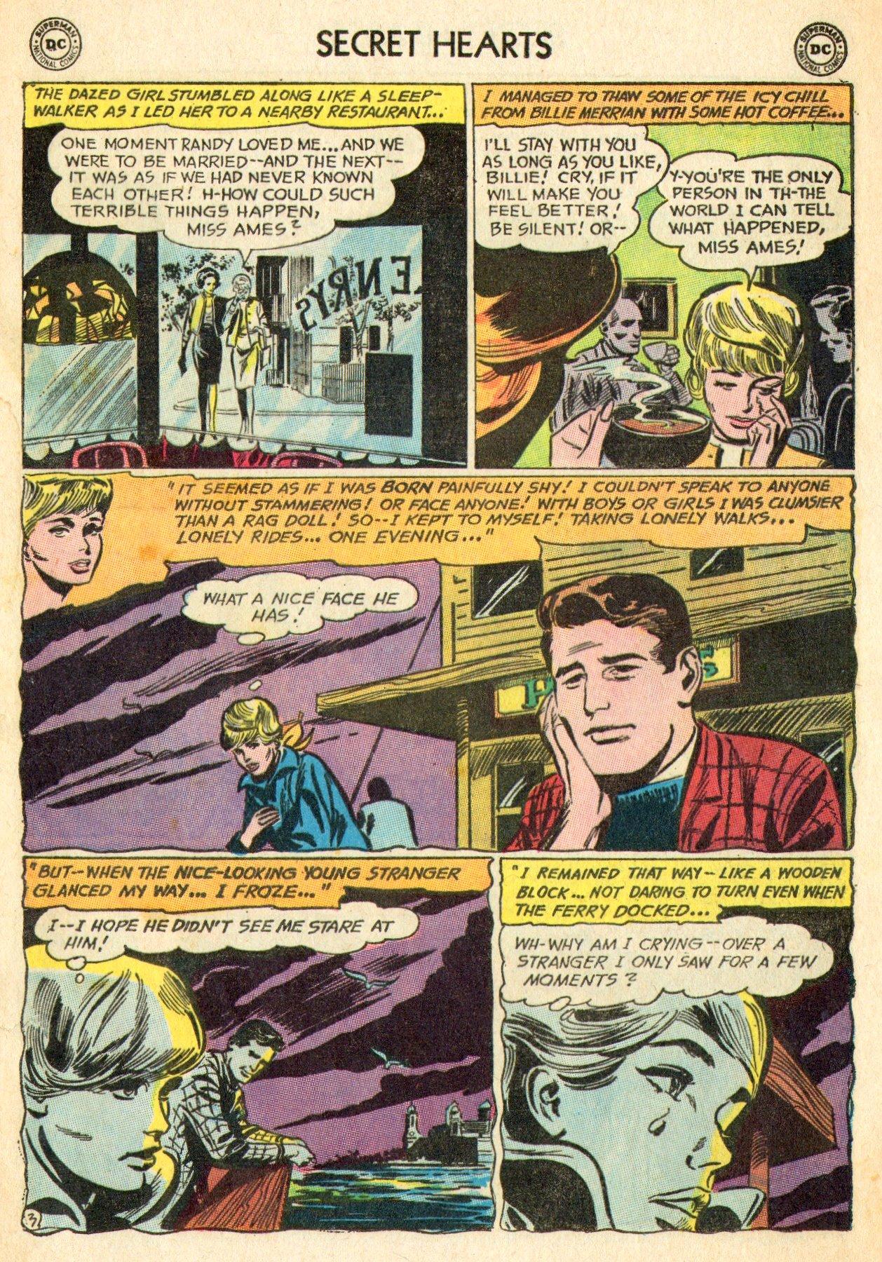 Read online Secret Hearts comic -  Issue #101 - 21