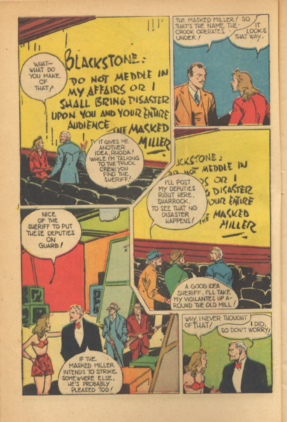 Read online Super-Magician Comics comic -  Issue #41 - 8