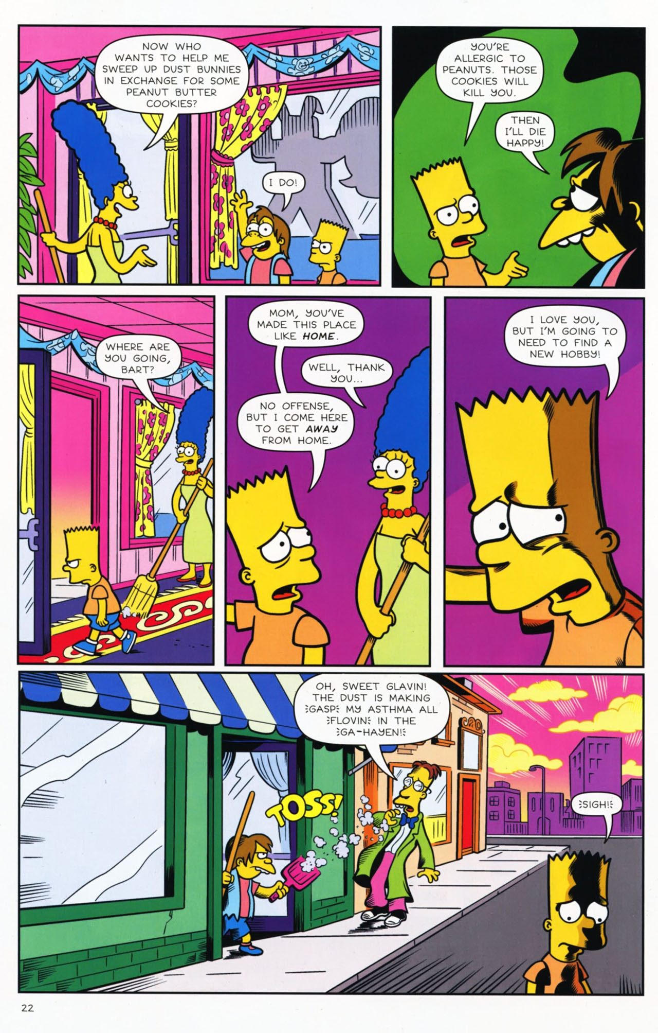 Read online Bongo Comics presents Comic Book Guy: The Comic Book comic -  Issue #2 - 23