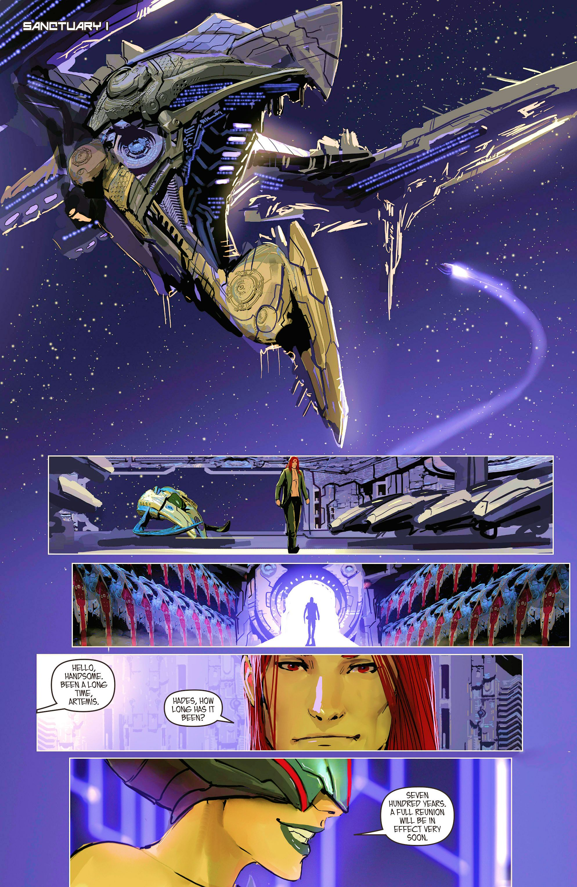 Read online Aphrodite IX (2013) comic -  Issue #8 - 18