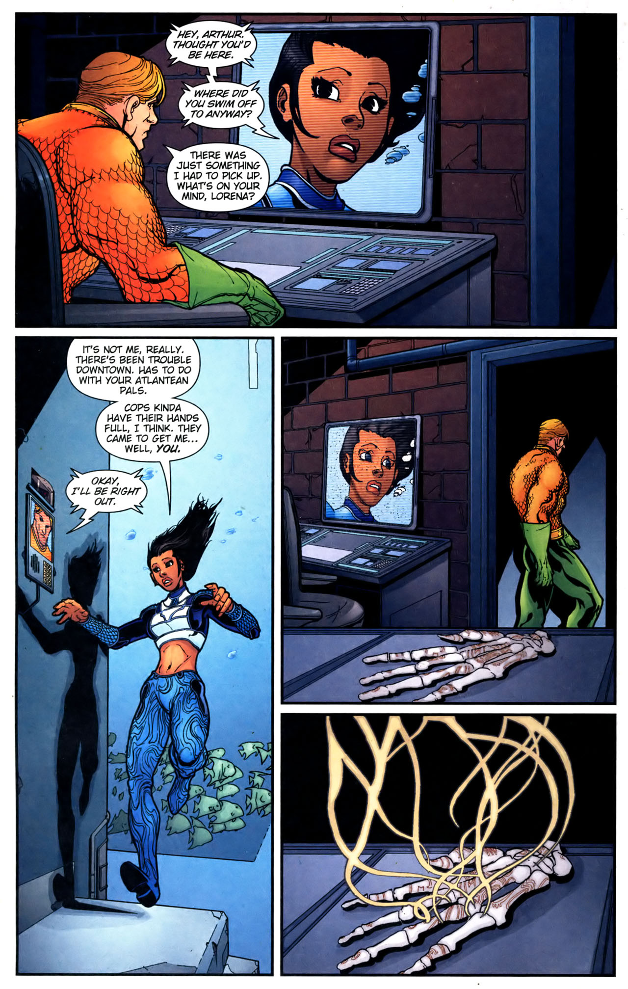 Read online Aquaman (2003) comic -  Issue #39 - 8