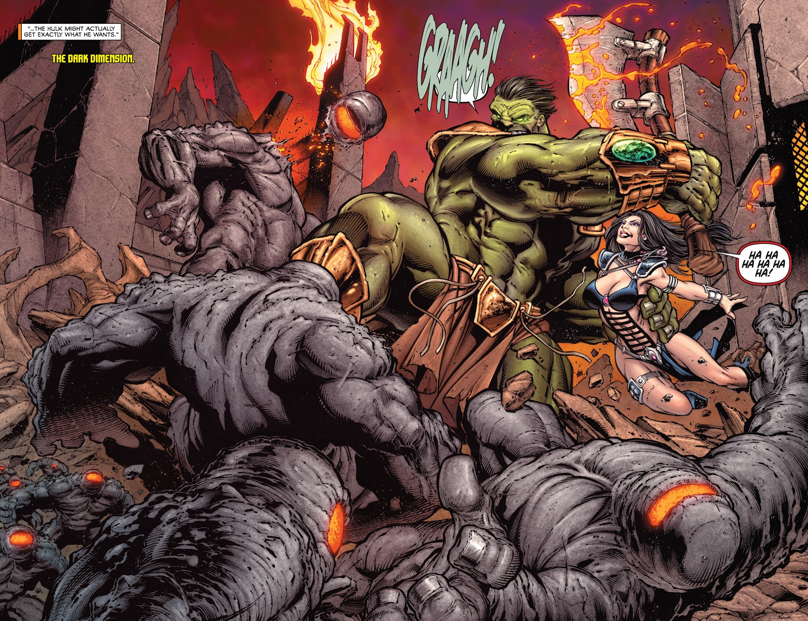 Read online Incredible Hulks (2010) comic -  Issue # _TPB Heart of the Monster - 78