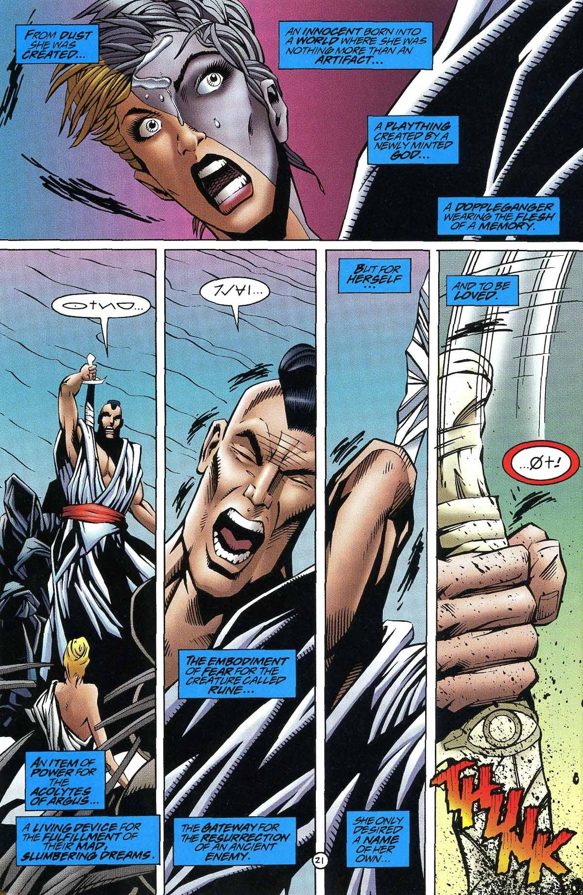 Read online Rune (1994) comic -  Issue #9 - 23